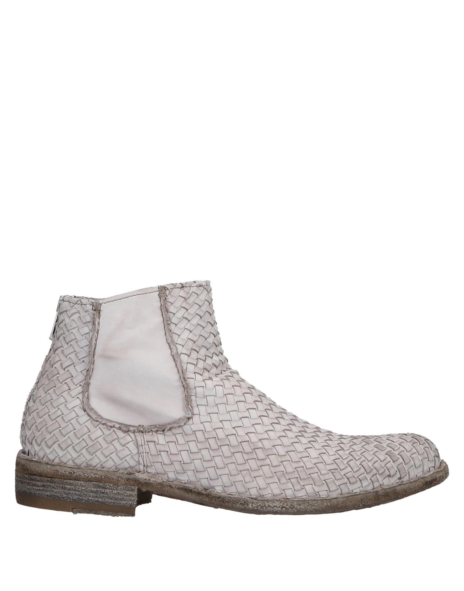 Bottine Officine Creative Italia Femme - Bottines Officine Creative Italia Ivoire Chaussures femme pas cher homme et femme