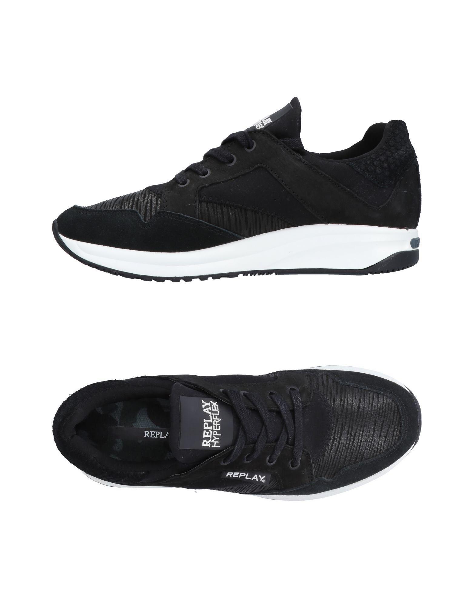 Rabatt echte Schuhe Replay Sneakers Herren  11517376AV