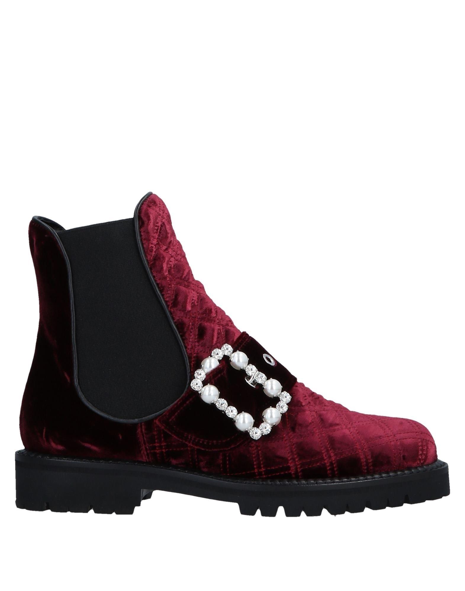 Bottine Sebastian Femme - Bottines Sebastian Pourpre Chaussures casual sauvages