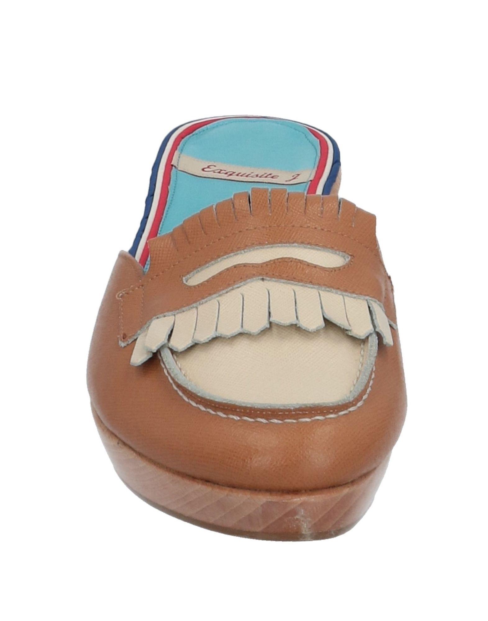 Gut um billige Damen Schuhe zu tragenExquisite J Pantoletten Damen billige  11517817NG 0d0bde