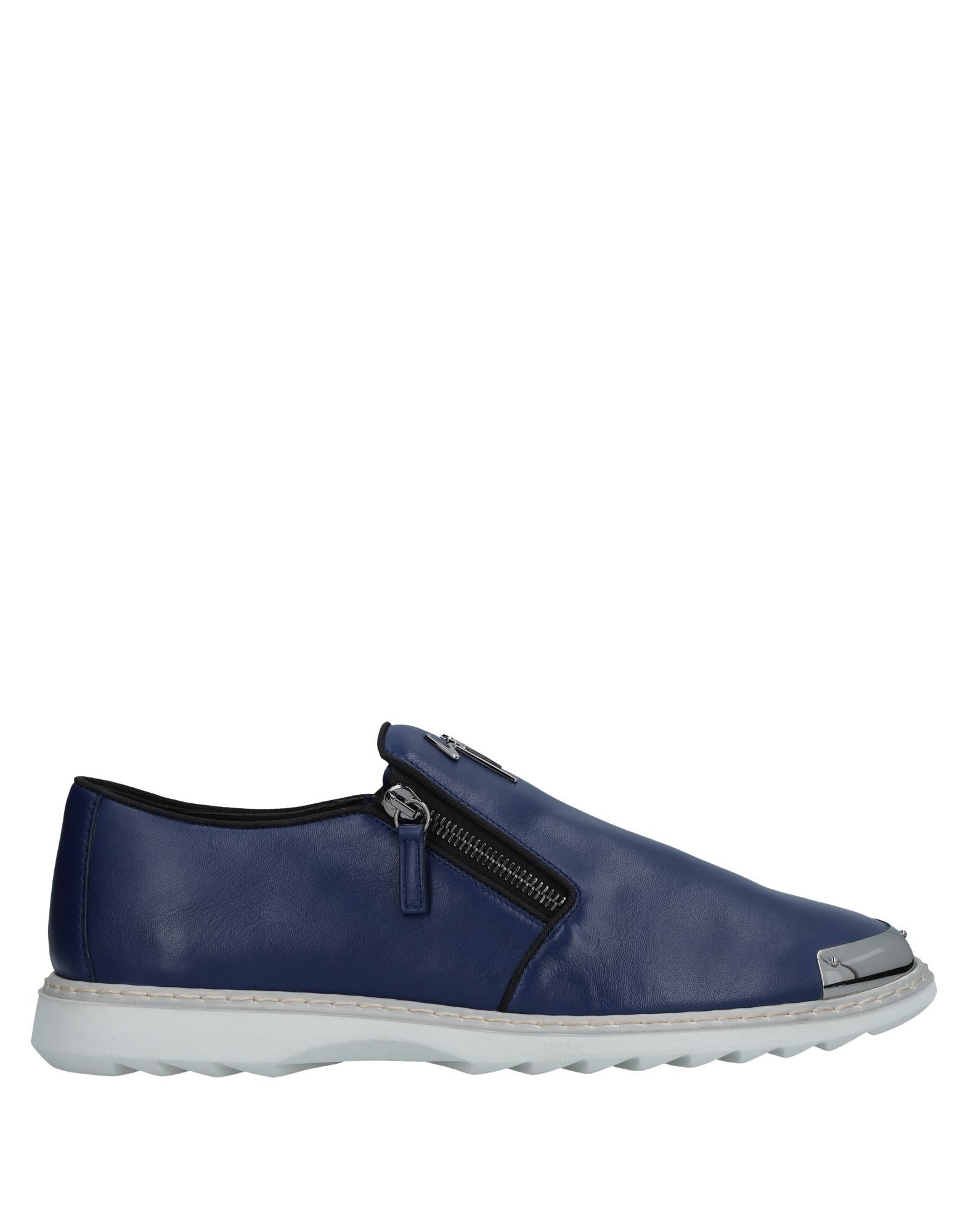Sneakers Giuseppe Zanotti Homme - Sneakers Giuseppe Zanotti  Bleu Nouvelles chaussures pour hommes et femmes, remise limitée dans le temps