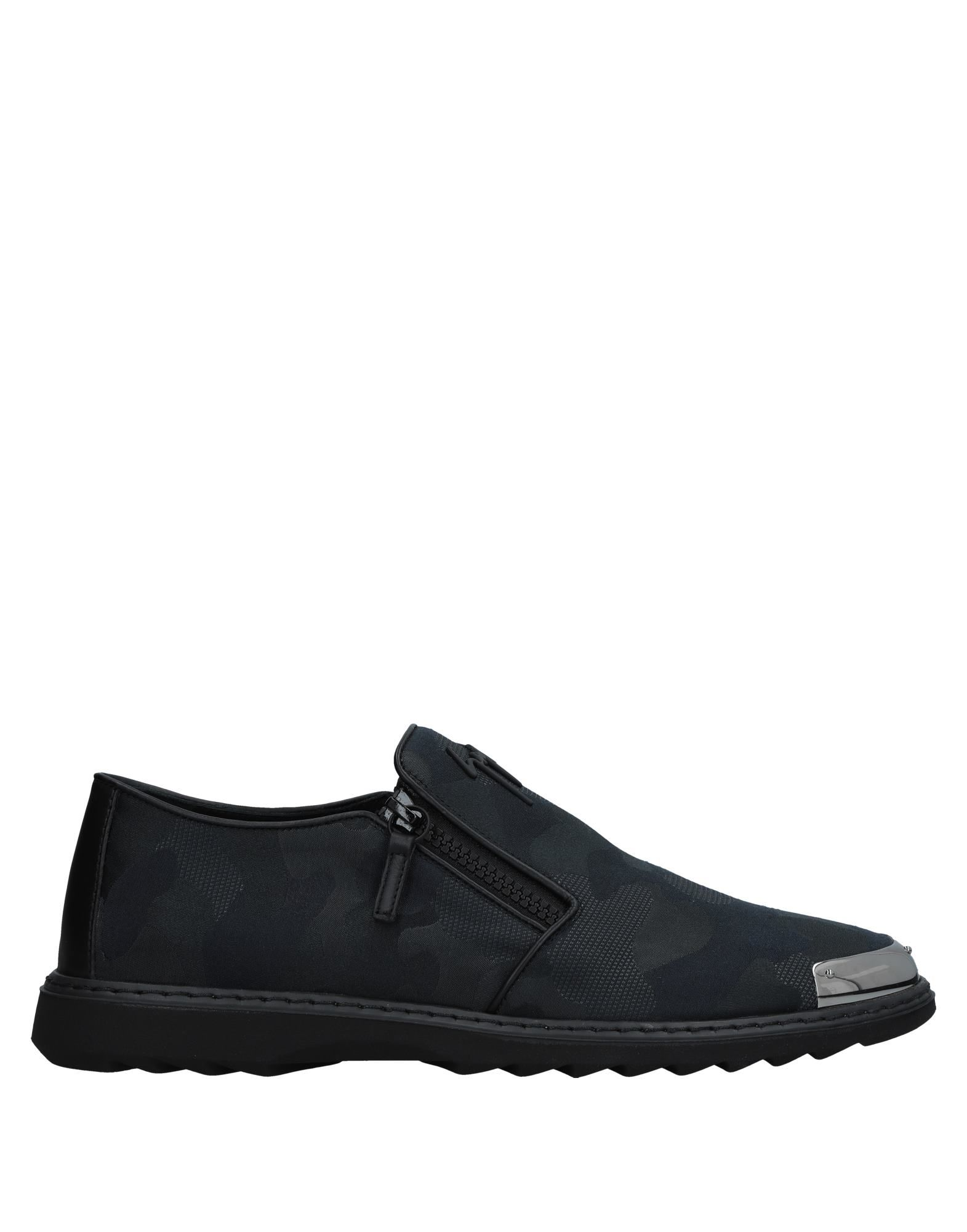 Sneakers Giuseppe Zanotti Homme - Sneakers Giuseppe Zanotti  Bleu foncé Chaussures casual sauvages