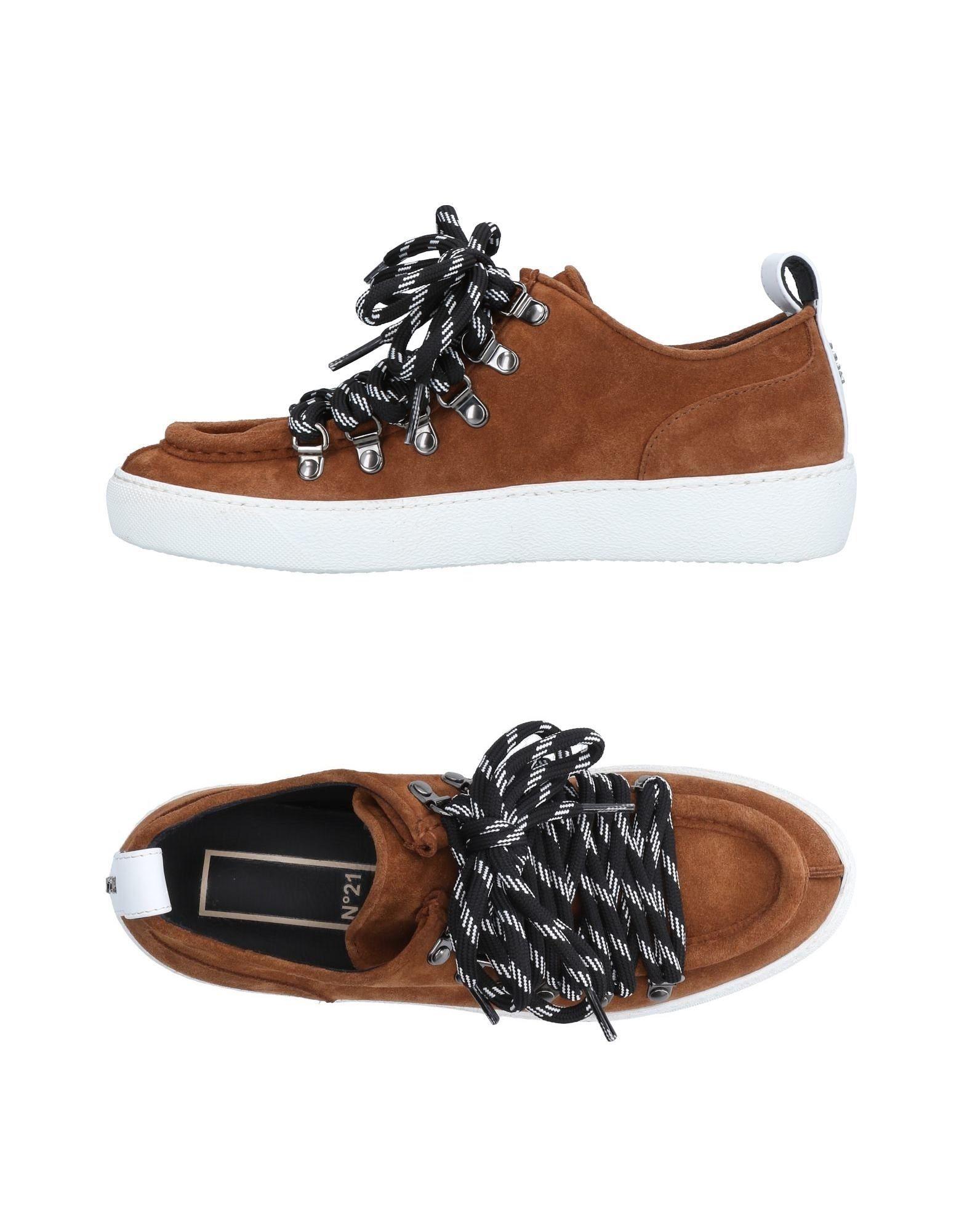 Rabatt Schuhe N° 21 Sneakers Damen  11518113VN