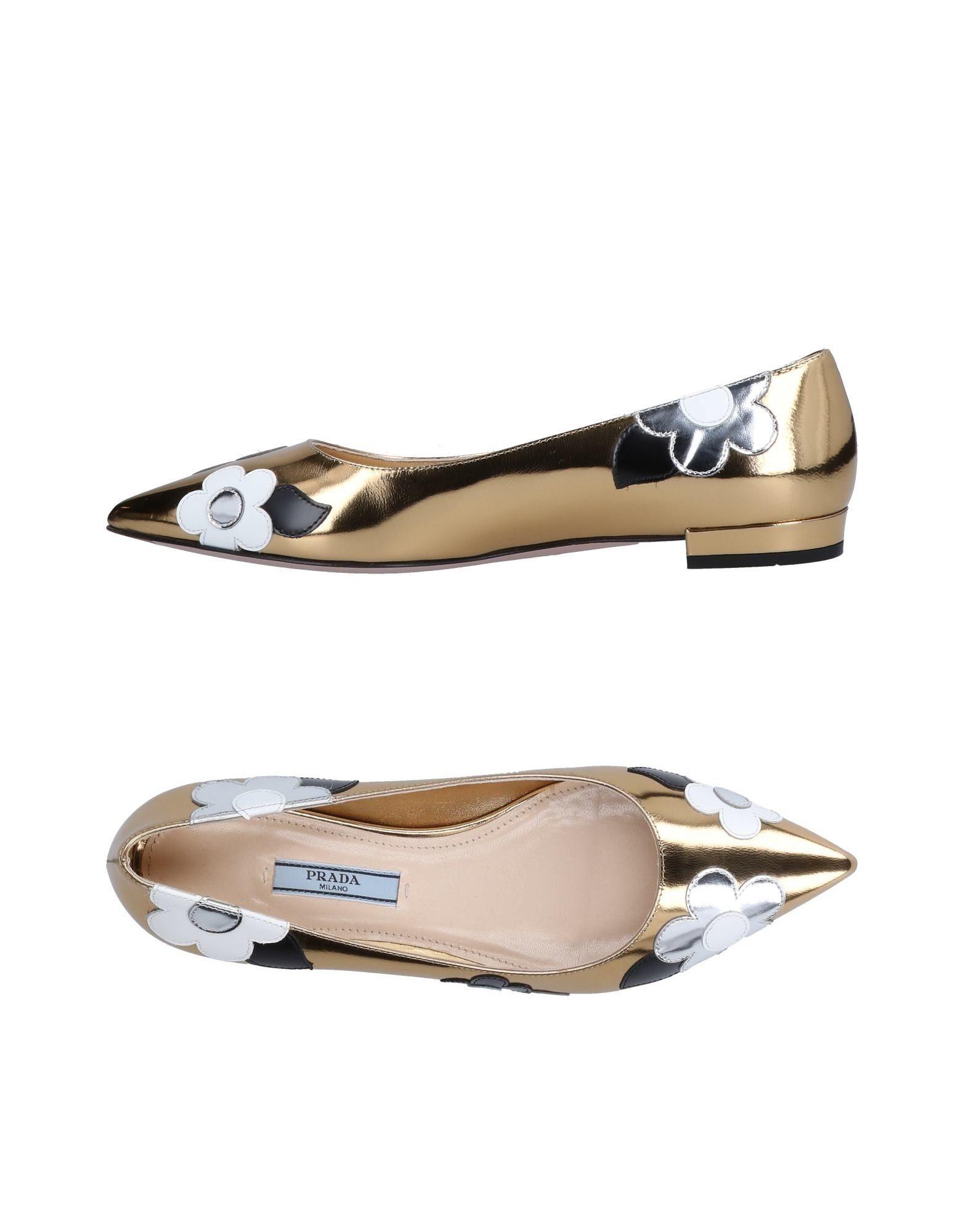 Rabatt Schuhe Prada Ballerinas Damen  11519473DM