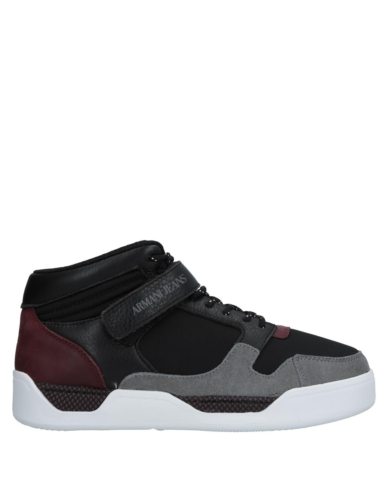 Rabatt echte Schuhe Armani Jeans Sneakers Herren  11519528NH