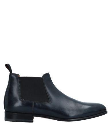 Zapatos con descuento Botín Santoni Hombre - Botines Santoni - 11519554OG Azul oscuro