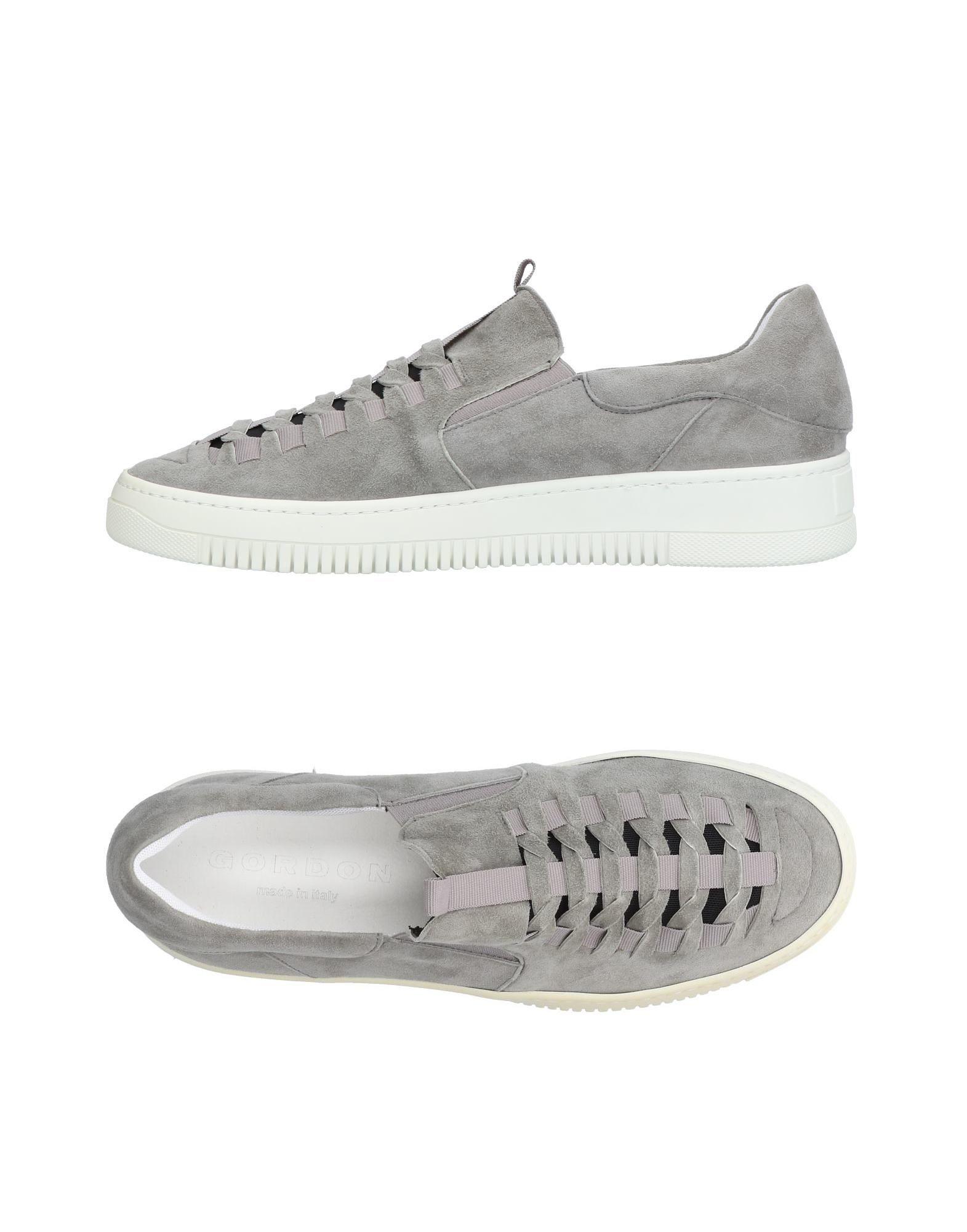Sneakers Gordon Homme - Sneakers Gordon  Plomb Confortable et belle