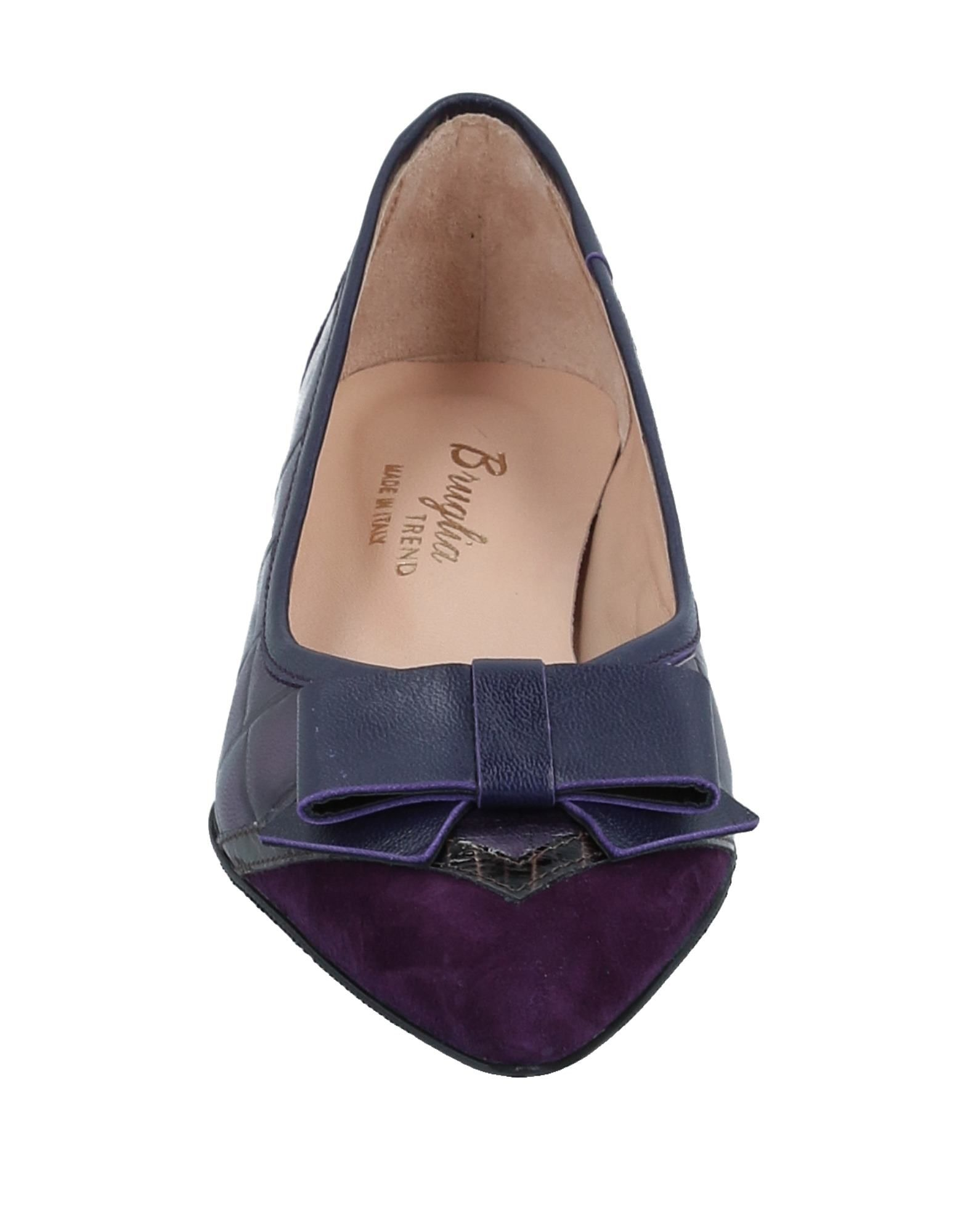 F.Lli Bruglia aussehende Ballerinas Damen  11520014TIGut aussehende Bruglia strapazierfähige Schuhe 8e8d47