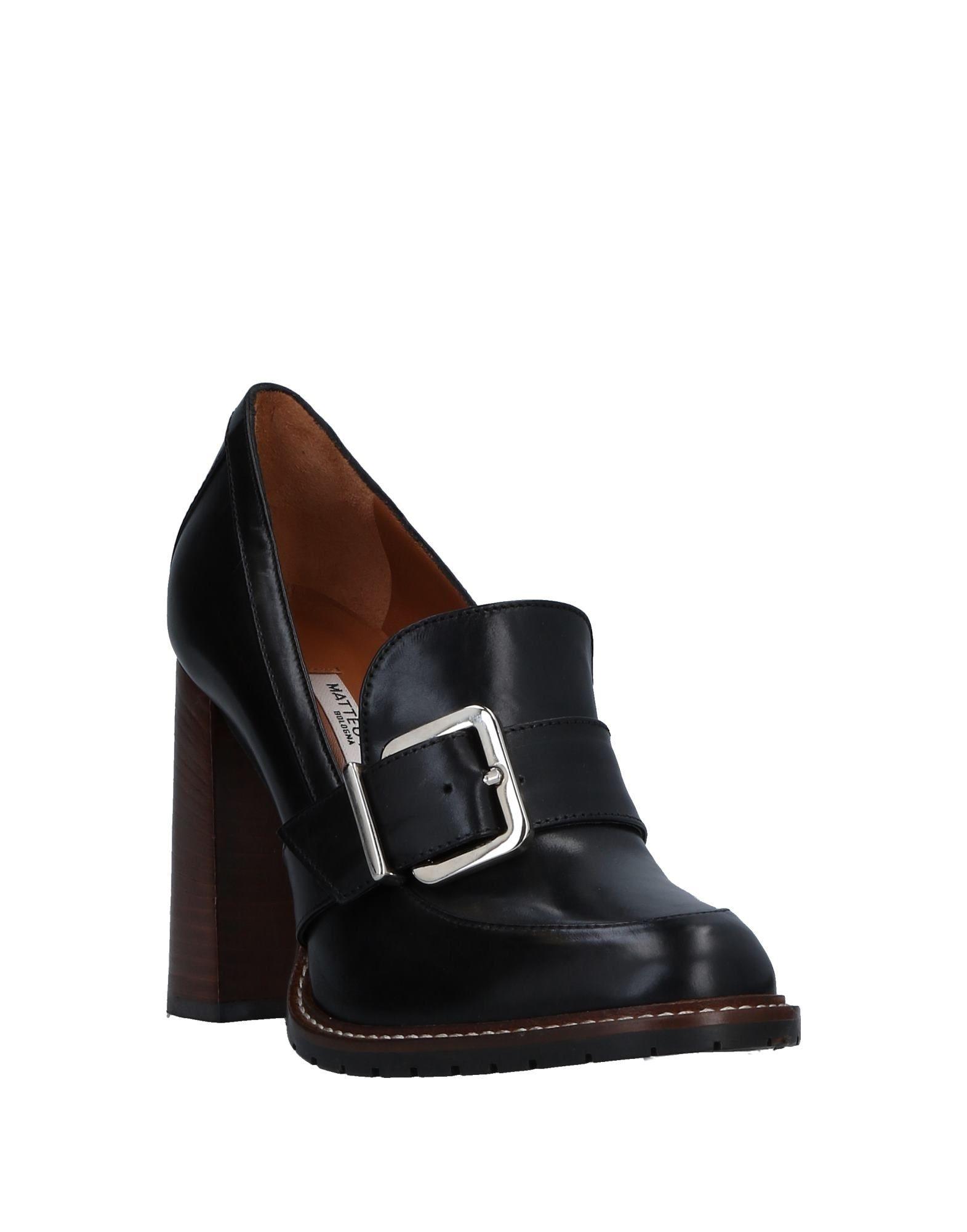 Stilvolle billige Schuhe Matteo  Pitti Bologna Mokassins Damen  Matteo 11520237WN d86536
