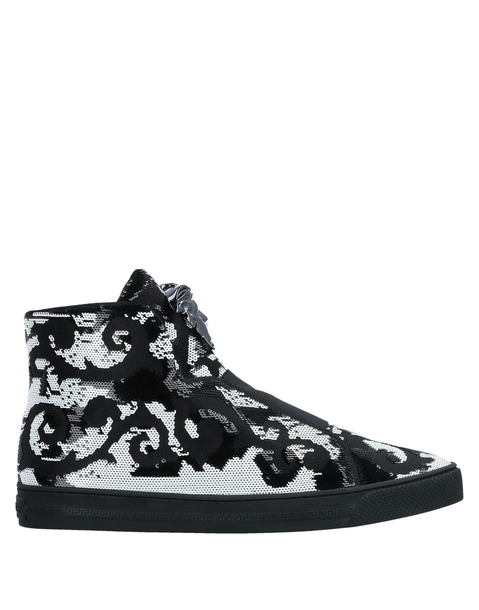 Sneakers Versace Homme - Sneakers Versace  Noir Les chaussures les plus populaires pour les hommes et les femmes