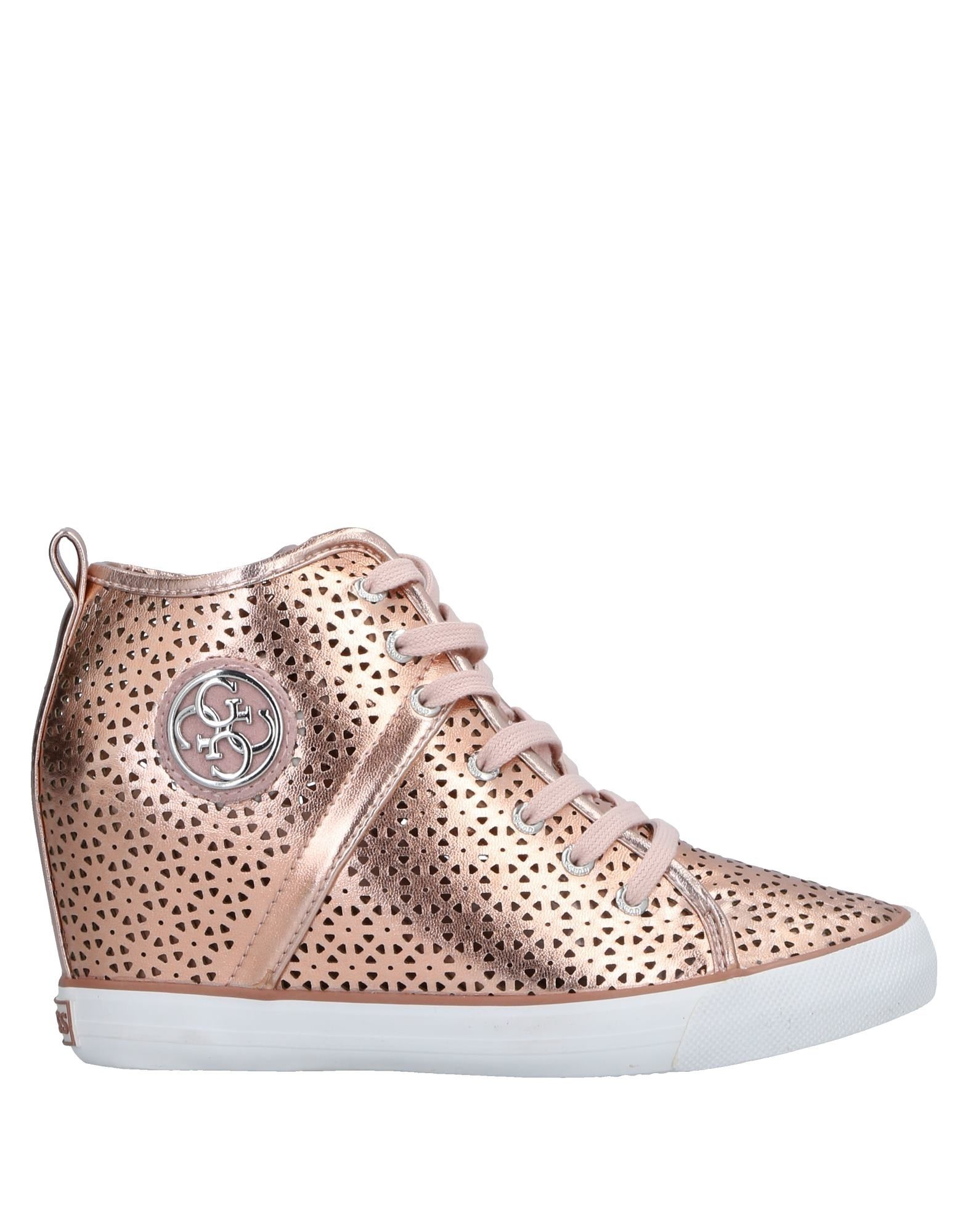Chaussures Femme Baskets Guess Dernières Rose PREUHEOwqn