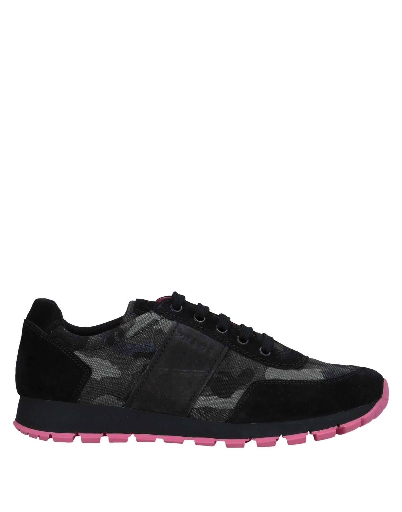 Zapatillas Negro Prada Mujer - Zapatillas Prada  Negro Zapatillas db3d28