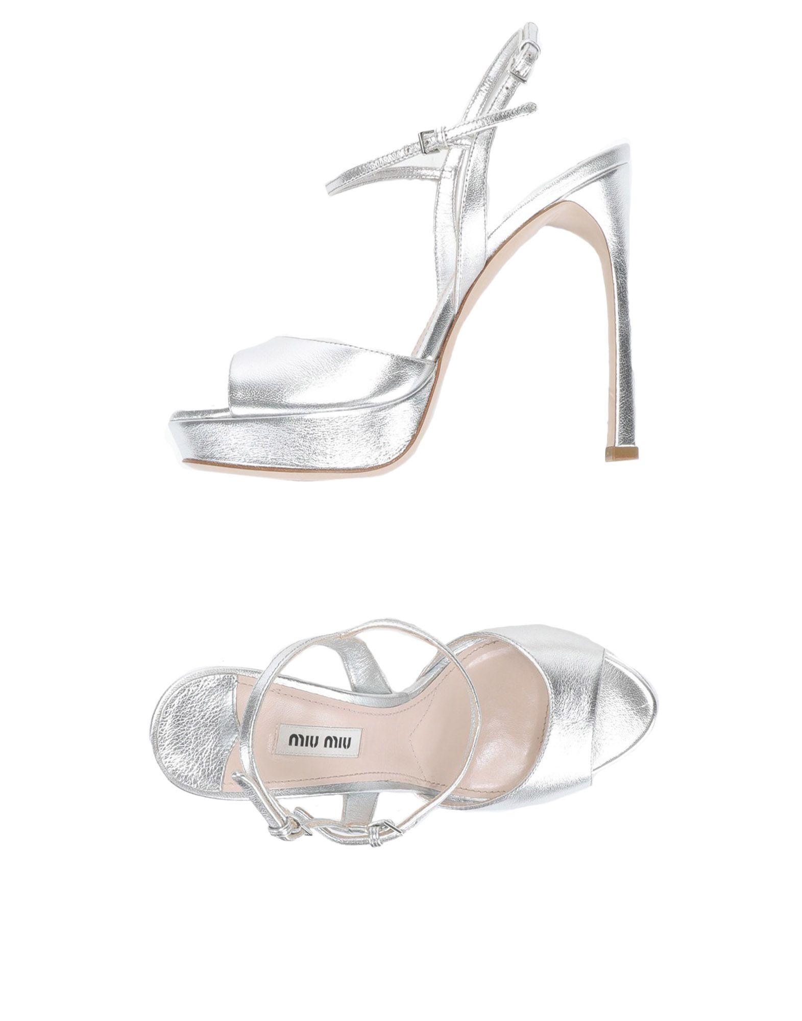 Miu Miu Sandals - Women on Miu Miu Sandals online on Women  Canada - 11522325VI 38caee