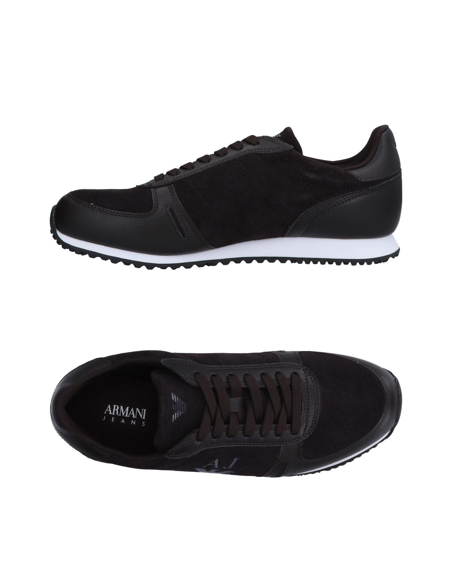 Rabatt echte Schuhe Armani Jeans Sneakers Herren  11522655EM