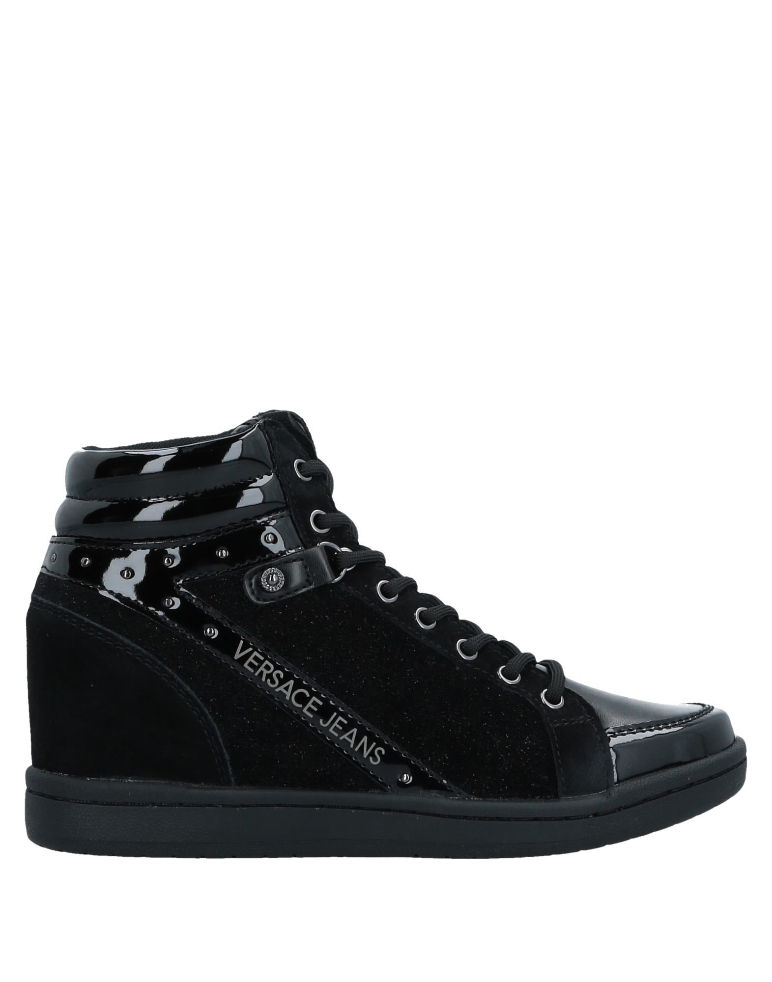 Zapatillas Jeans Versace Jeans Mujer - Zapatillas Versace Jeans Zapatillas  Negro 93435e