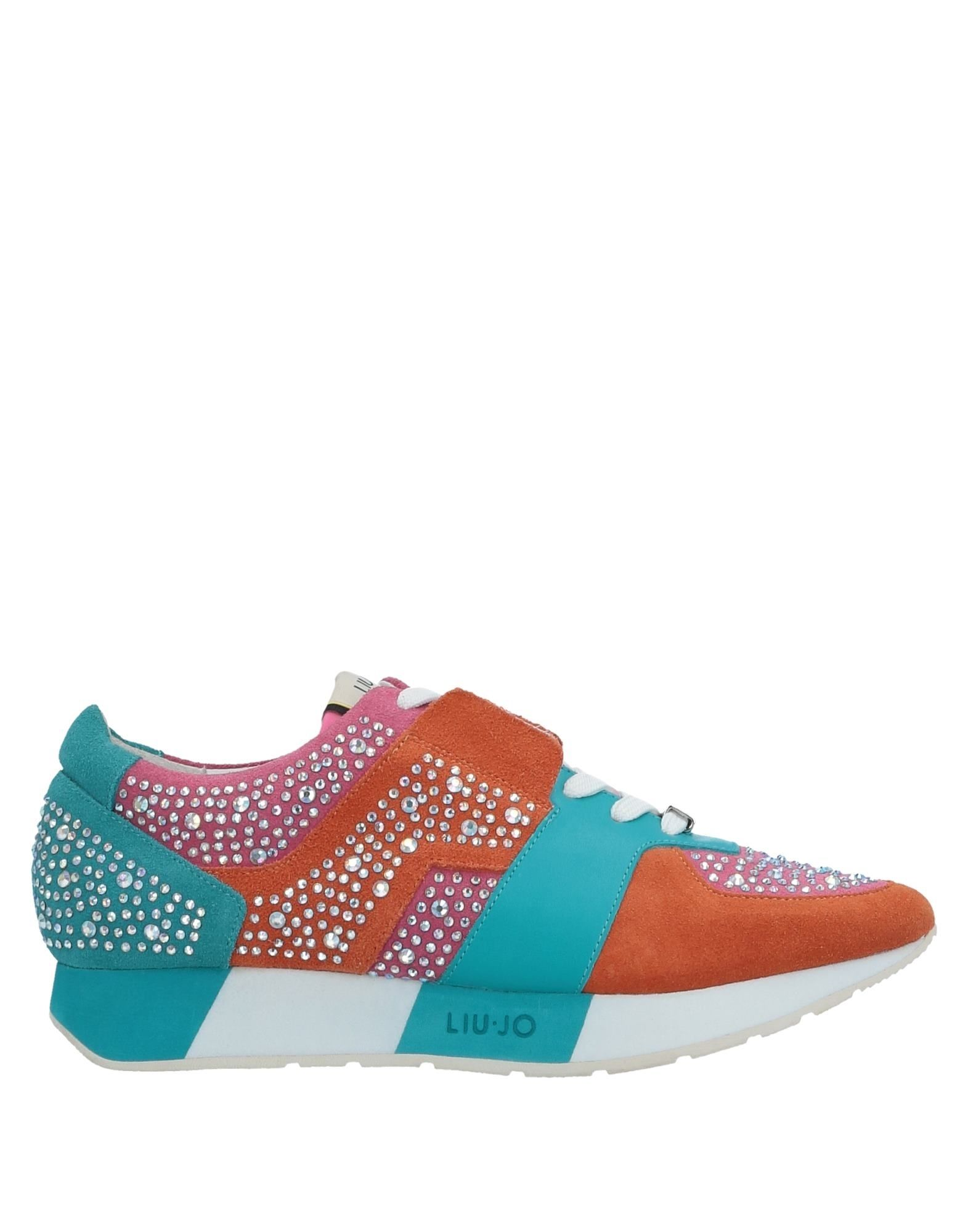 Baskets Liu •Jo Shoes Femme - Baskets Liu •Jo Shoes Orange Réduction de prix saisonnier, remise