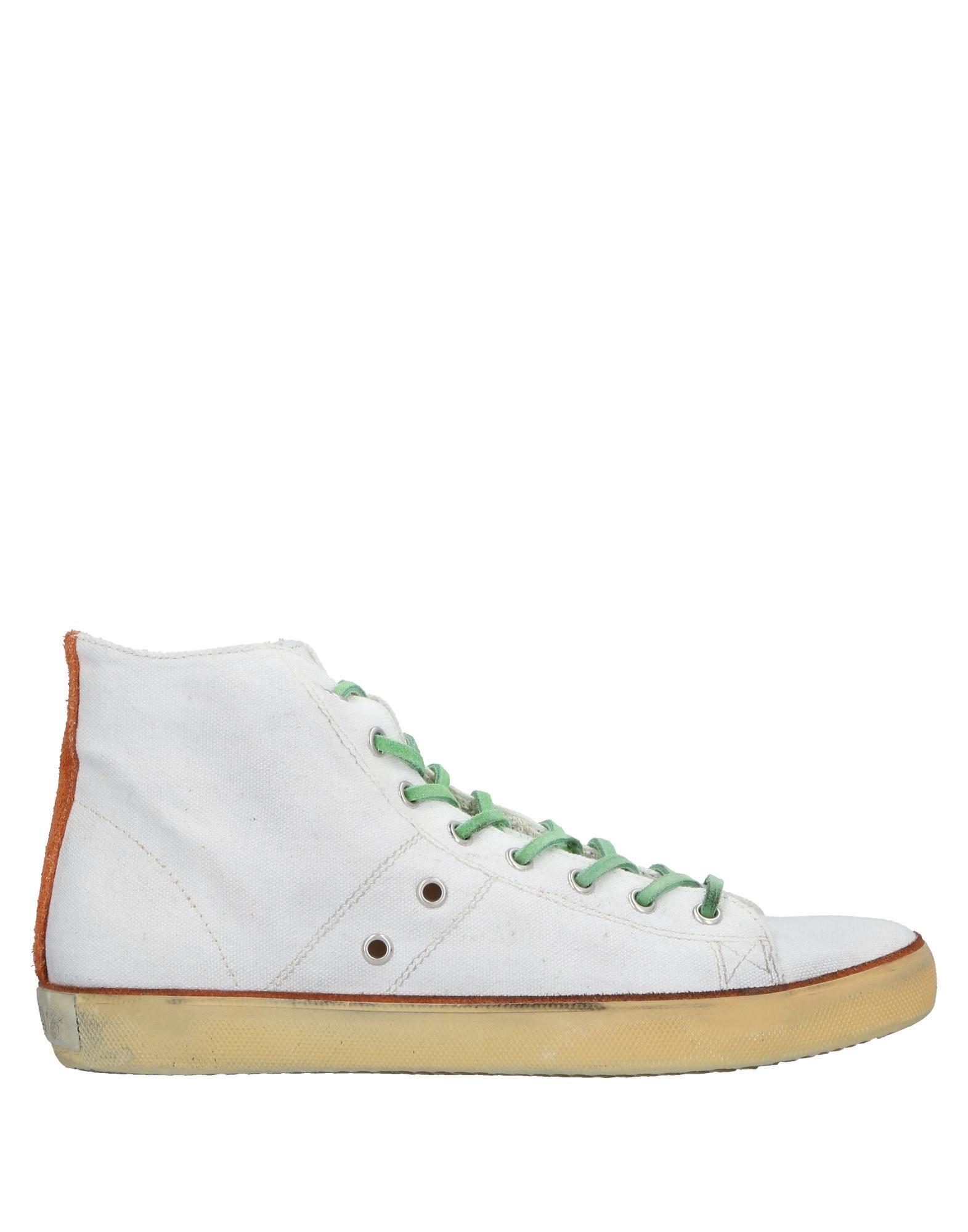 Rabatt echte Schuhe Leather Crown Sneakers Herren  11523098KA