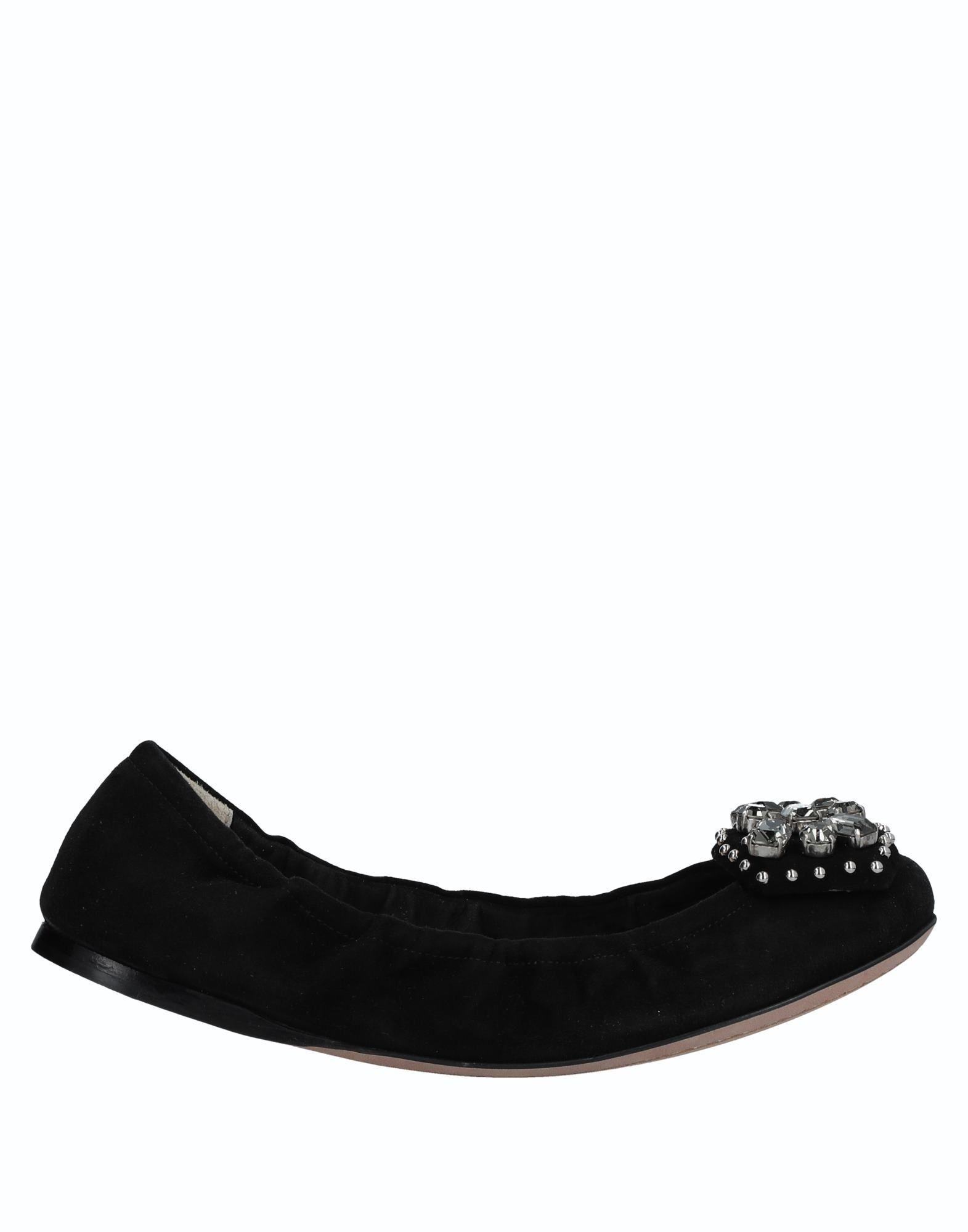 Rabatt Schuhe Prada Ballerinas Damen  11524166AO