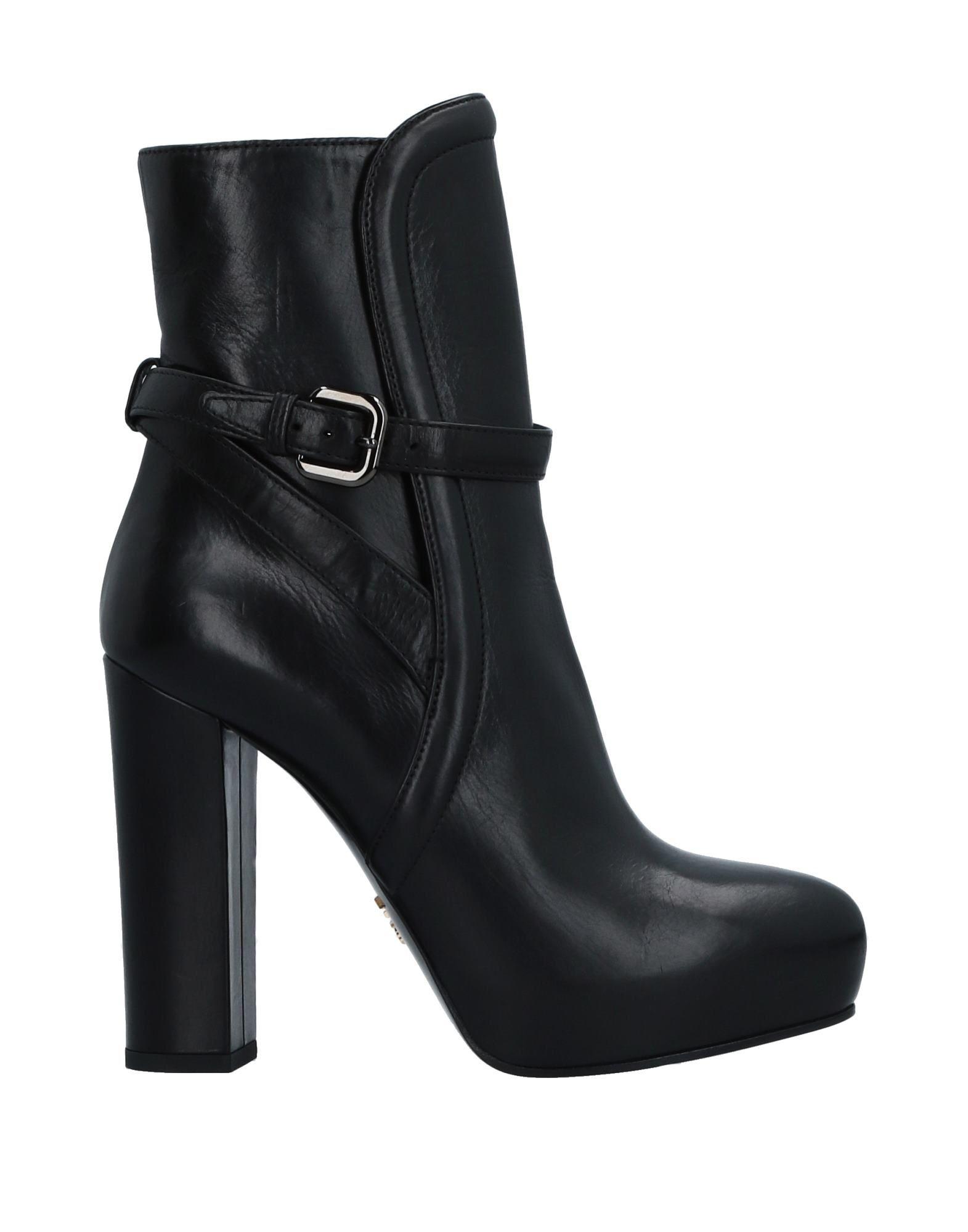 Prada Stiefelette Damen  11524197LTGünstige gut aussehende Schuhe