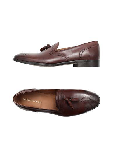 Zapatos cómodos Leonardo y versátiles Mocasín Leonardo cómodos Principi Hombre - Mocasines Leonardo Principi - 11524300EB Café 91dfd4