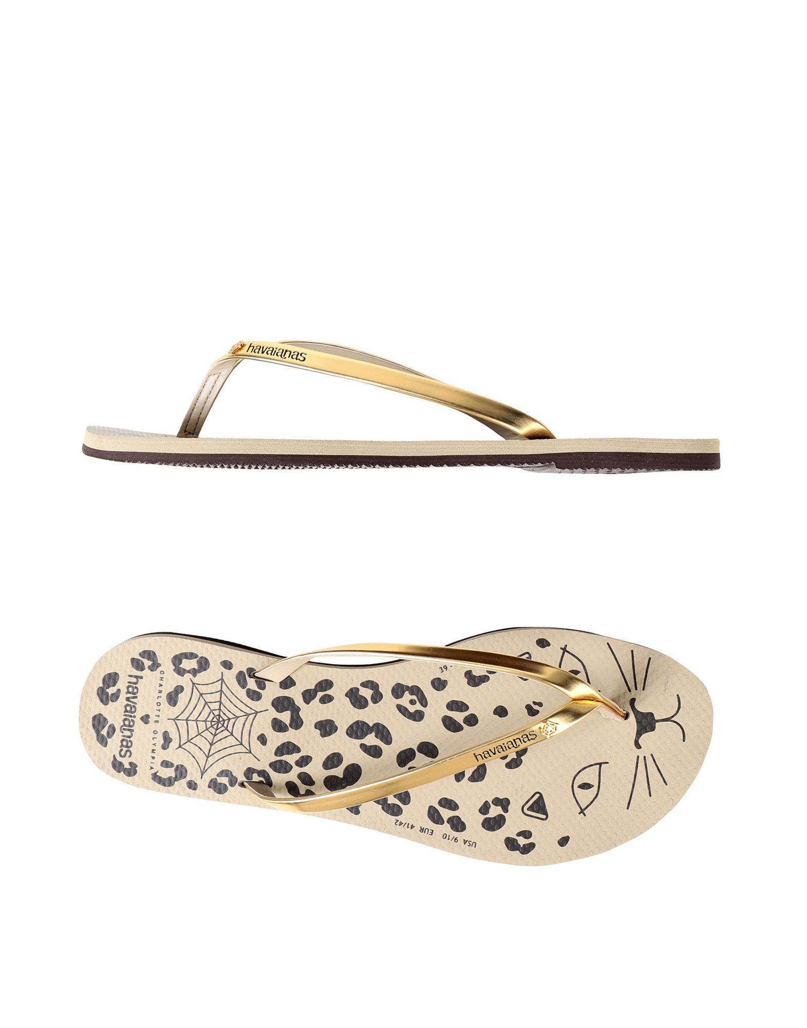 Charlotte Olympia  Loves Havaianas Dianetten Damen  Olympia 11524358XK Gute Qualität beliebte Schuhe 997bf2