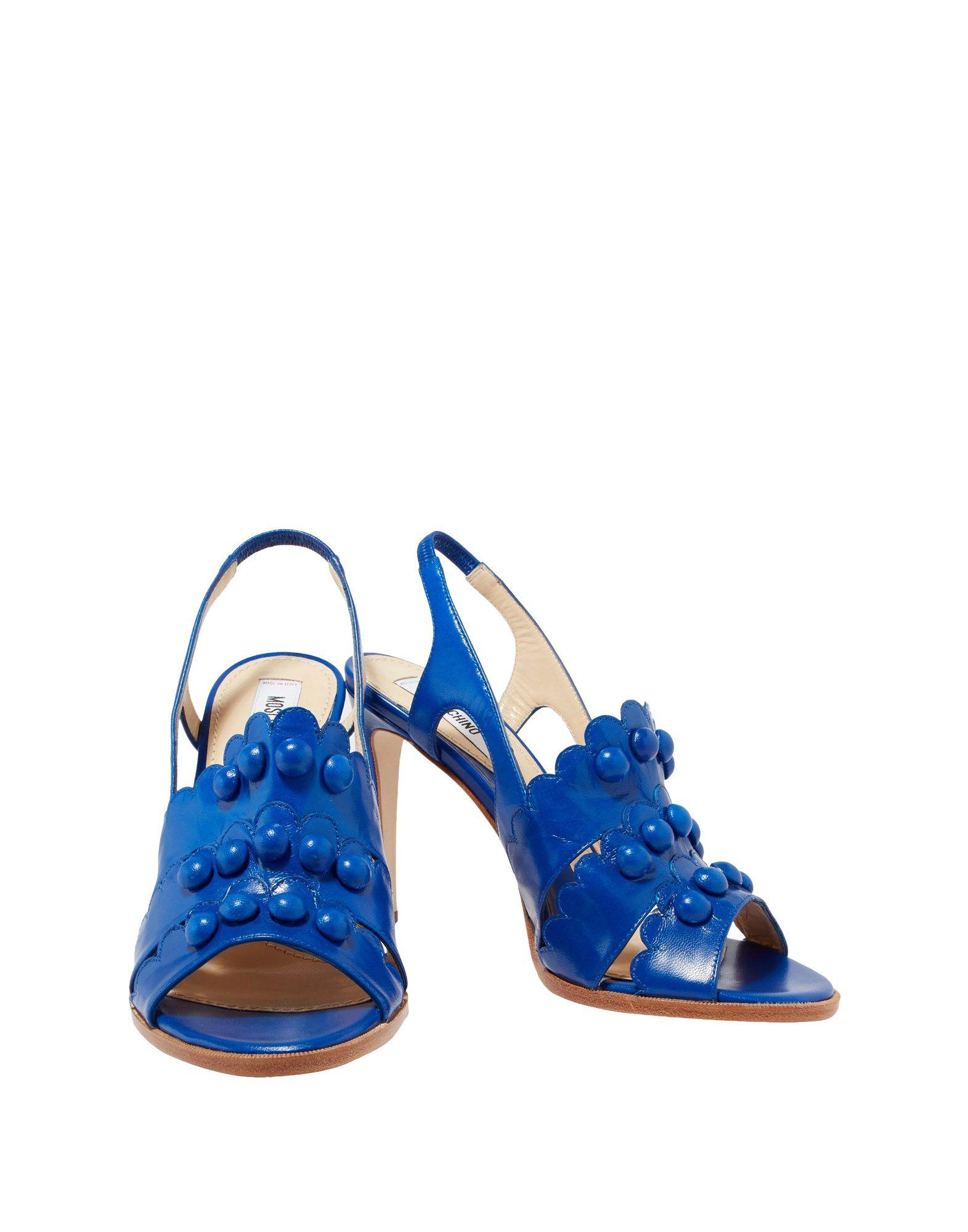 Rabatt Schuhe Moschino Sandalen Damen  11524528GS