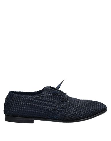 DAMY Laced Shoes in Dark Blue