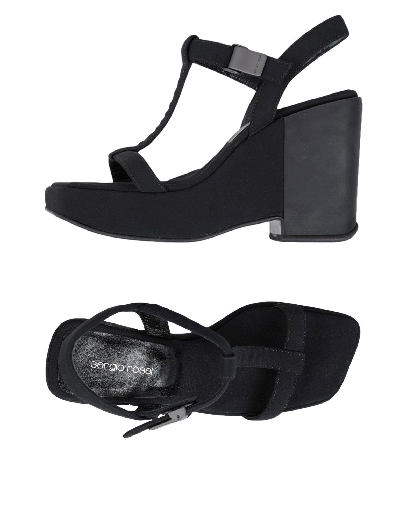 Sergio Rossi Sandalen Damen  11525689UMGünstige gut aussehende Schuhe