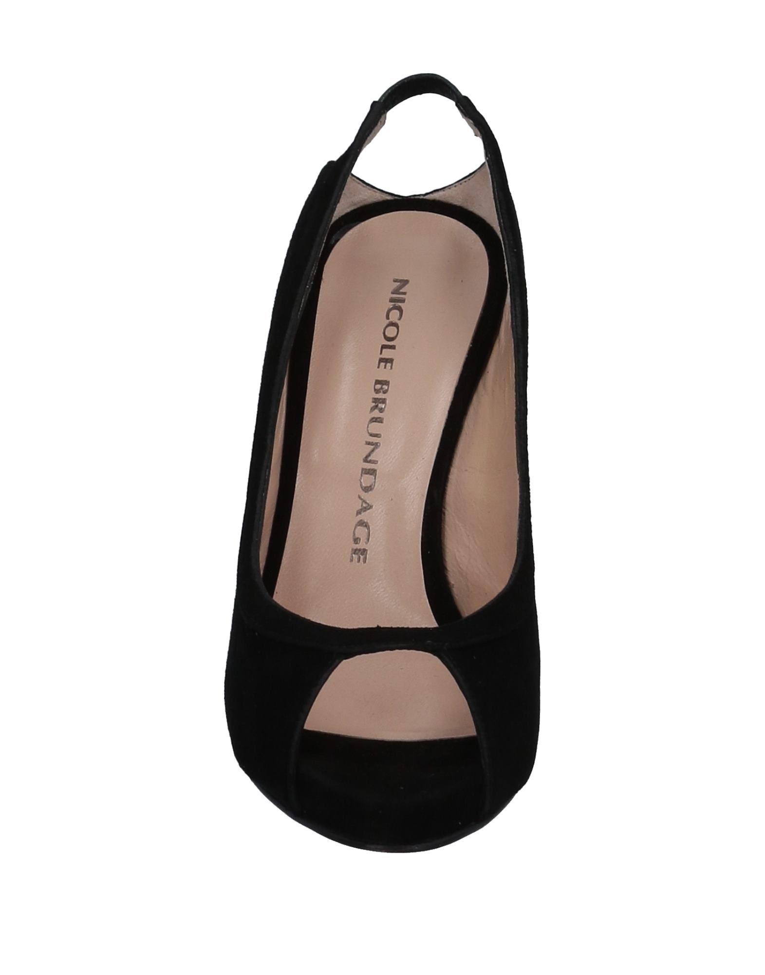 Stilvolle billige Schuhe  Nicole Brundage Sandalen Damen  Schuhe 11525783OD fd70b0