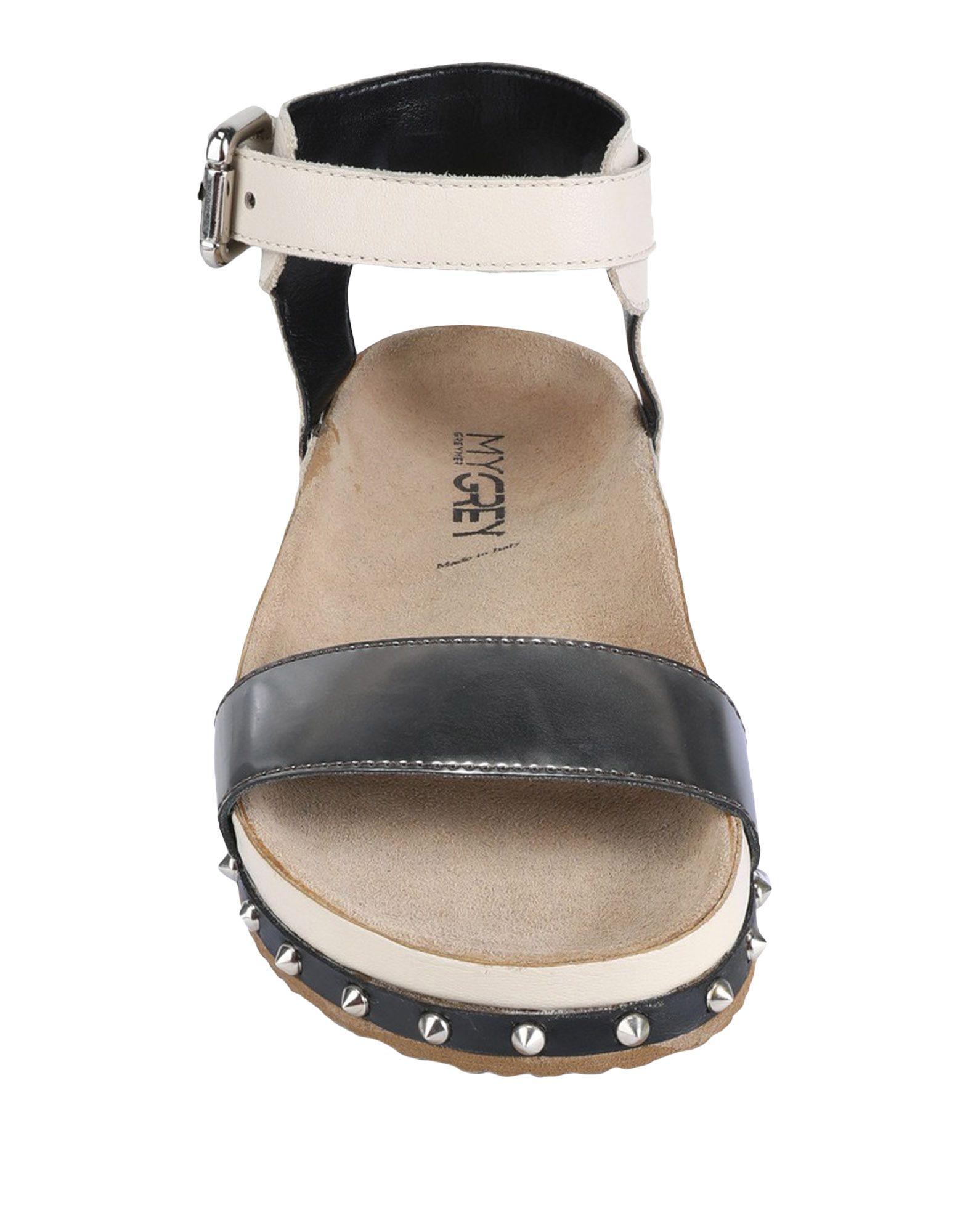 My Grey Sandalen Damen  beliebte 11525806BK Gute Qualität beliebte  Schuhe 7e339c