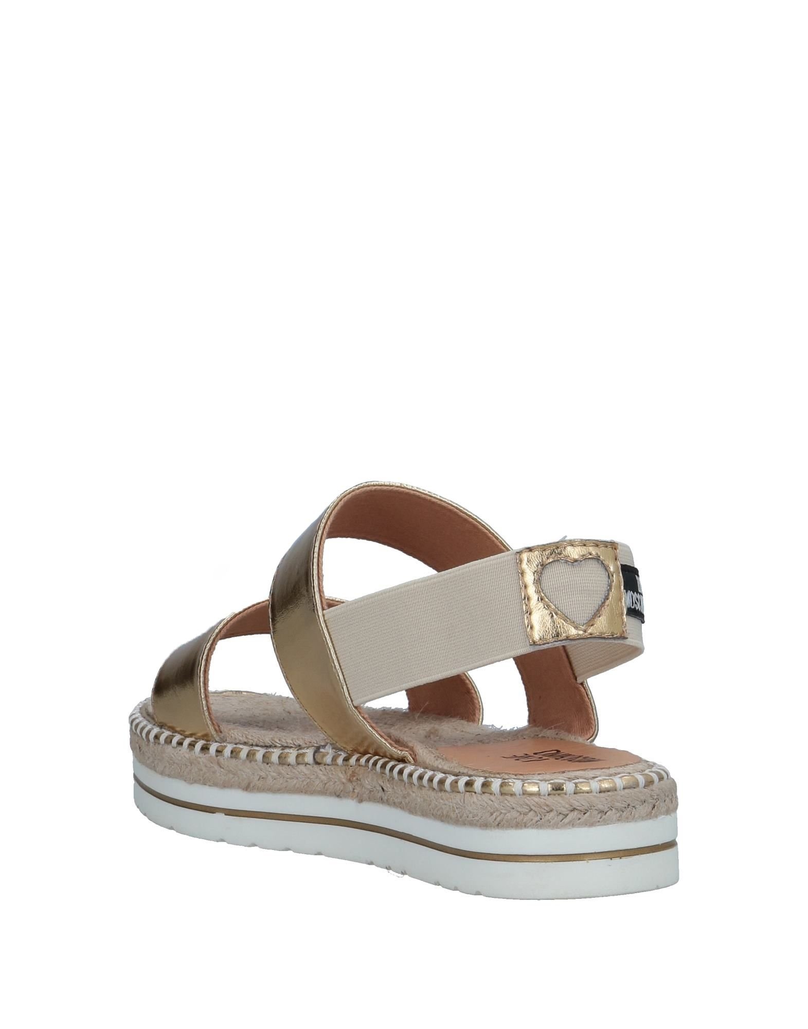 Love beliebte Moschino Sandalen Damen  11525808SM Gute Qualität beliebte Love Schuhe ea92d8