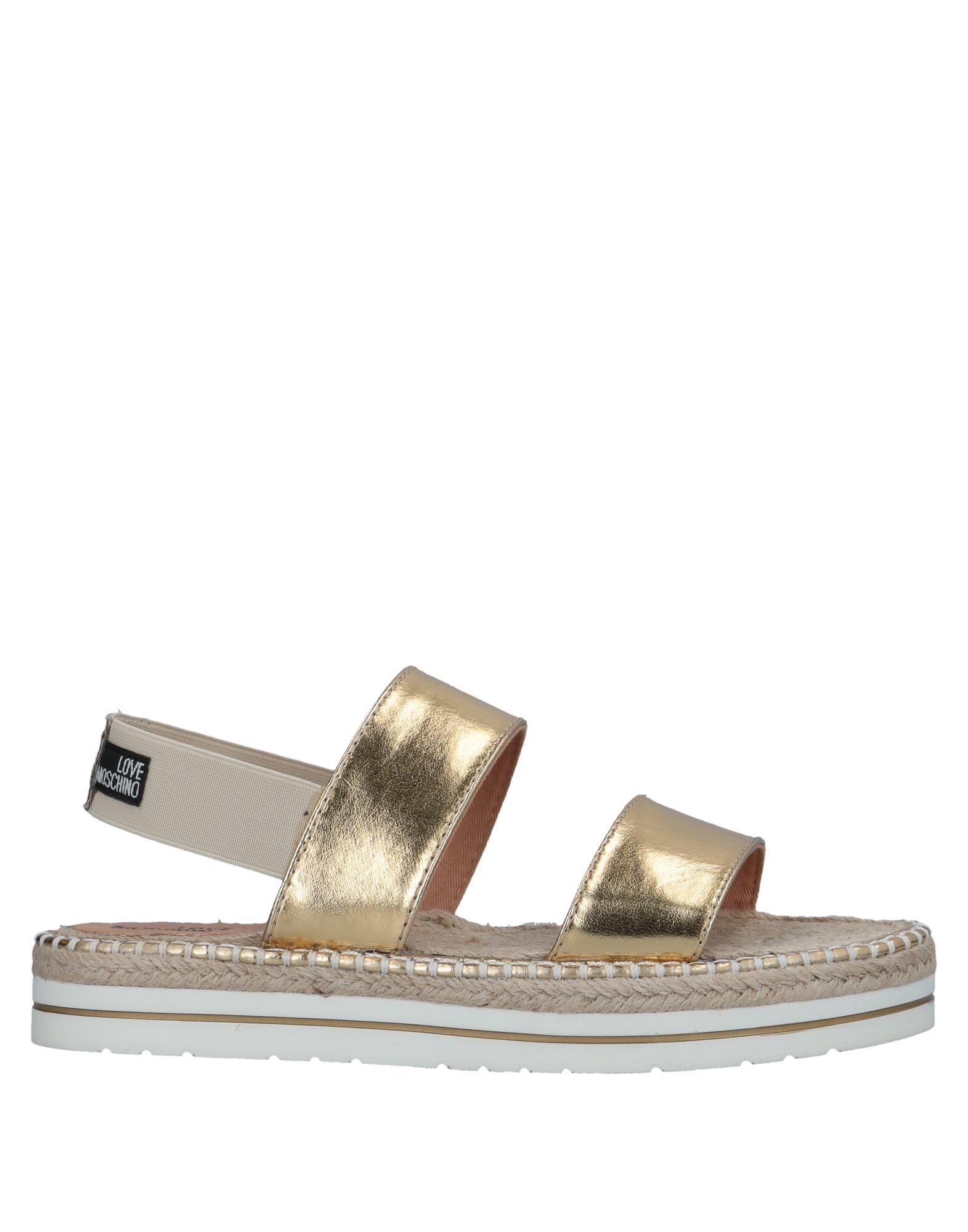 Love Moschino Sandalen Damen  11525808SM Gute Qualität beliebte Schuhe