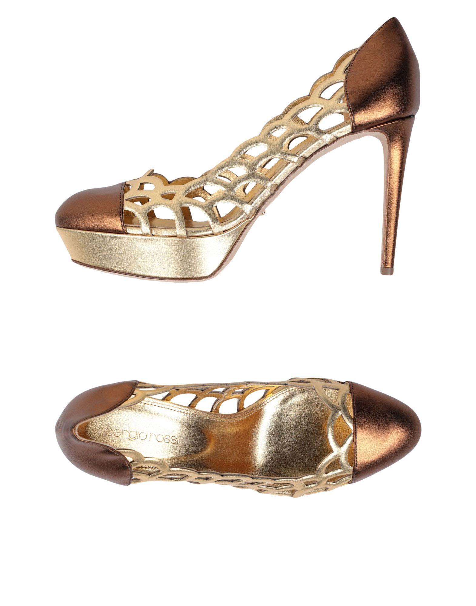 Sergio  Rossi Pumps Damen  Sergio 11525996APGünstige gut aussehende Schuhe 77305c