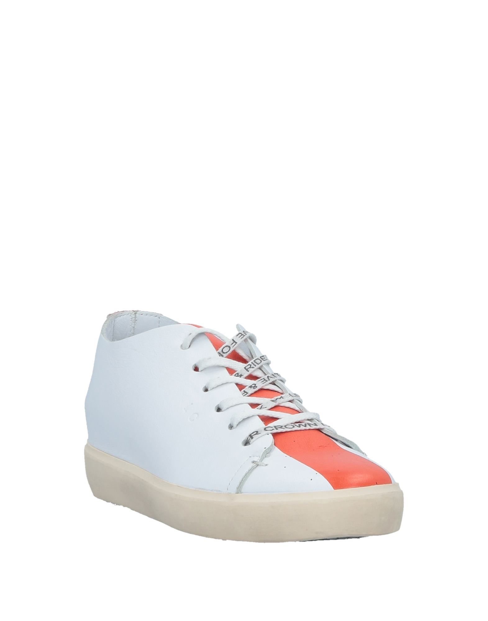 Leather Crown Sneakers - Women Leather Crown Crown Crown Sneakers online on  Canada - 11526530EN 02a82c