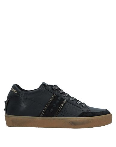 Leather Crown Sneakers - Women Leather Crown Sneakers online on YOOX United States - 11526548QI
