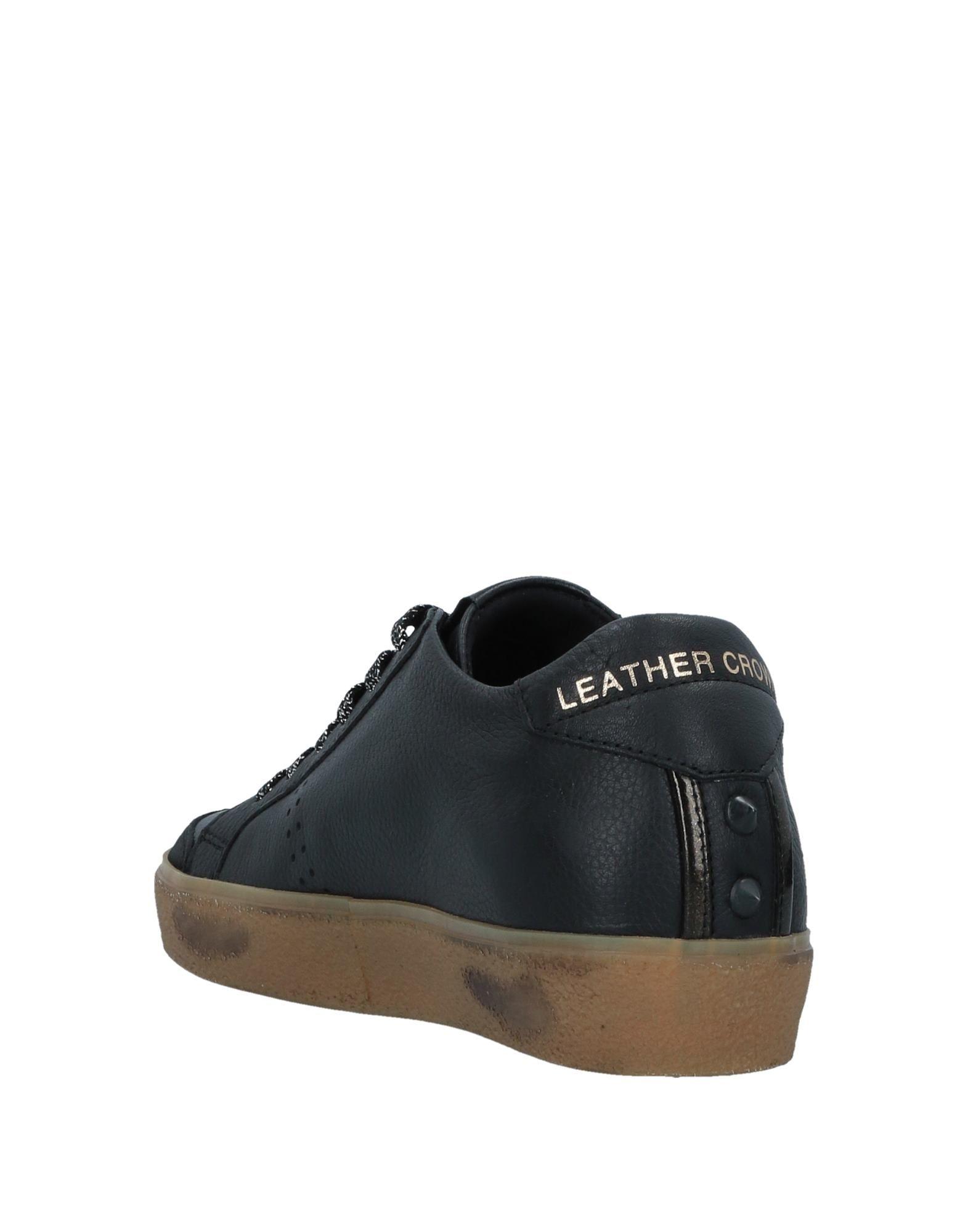 Gut um billige Schuhe zu  tragenLeather Crown Sneakers Damen  zu 11526548QI bf0ea0