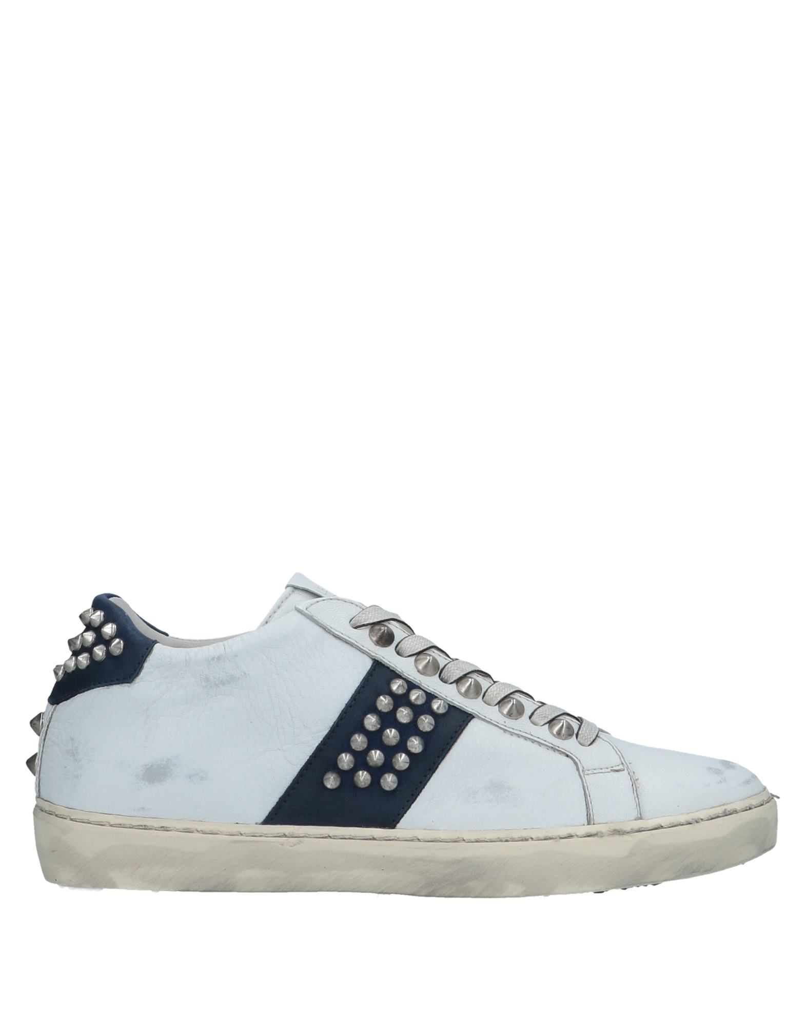 Sneakers Leather Crown Donna - 11526586QX