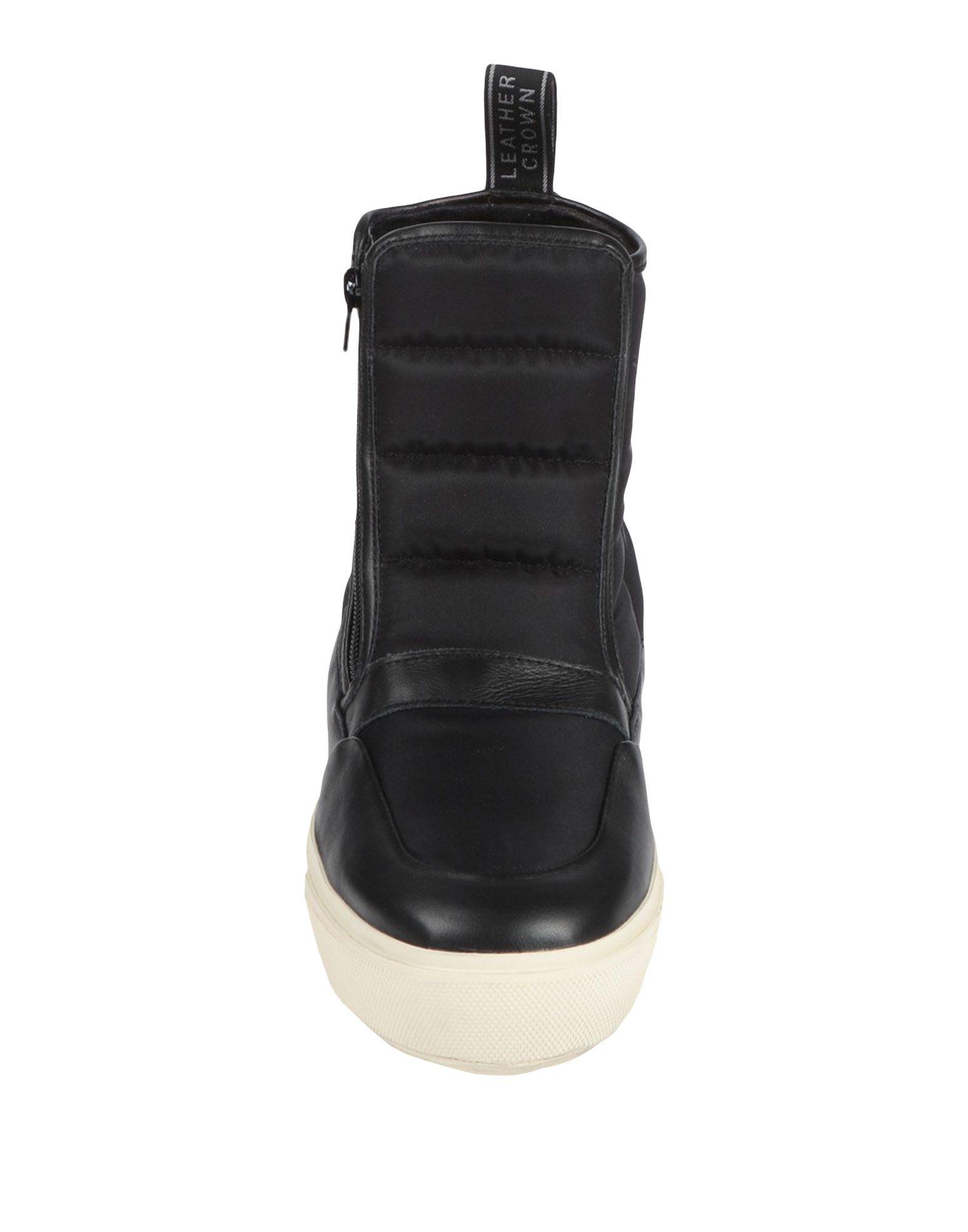 Rabatt Schuhe Leather Crown Stiefelette Damen  11526605GP