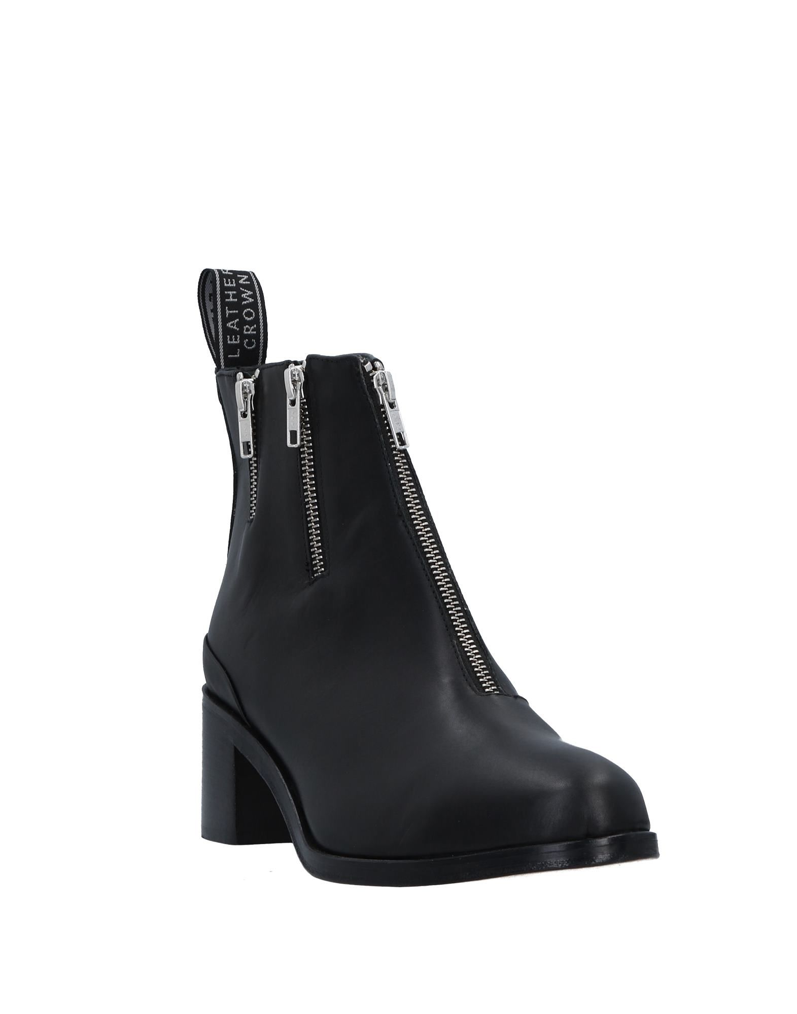 Leather Crown Leather Ankle Boot - Women Leather Crown Crown Ankle Boots online on  United Kingdom - 11526624FM a6bcfa
