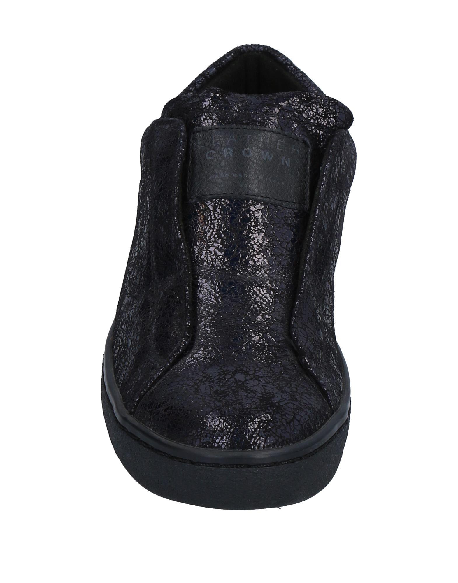 Stilvolle Sneakers billige Schuhe Leather Crown Sneakers Stilvolle Damen  11526937CN e3ad56