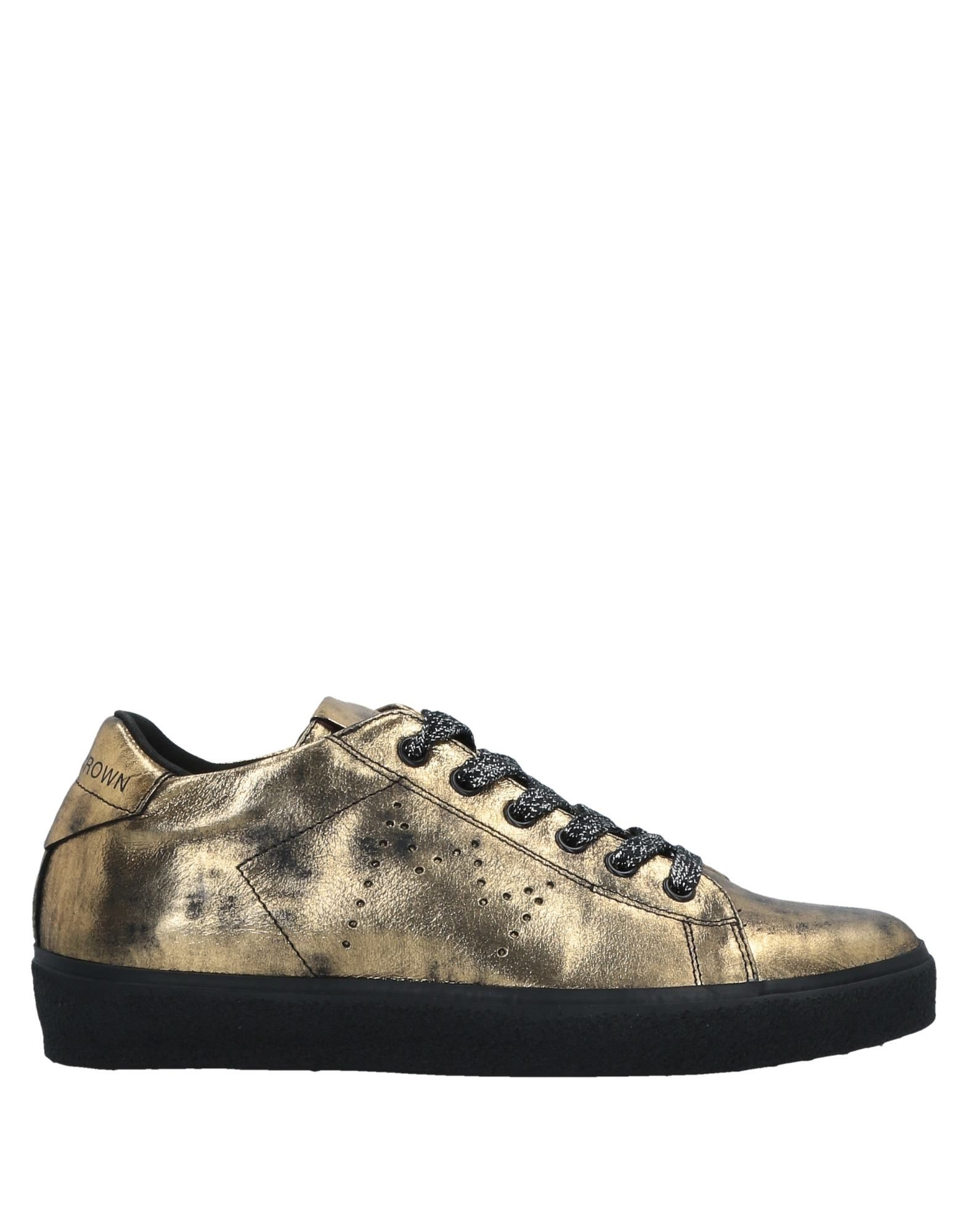 Sneakers Leather Crown Donna - 11526939BK