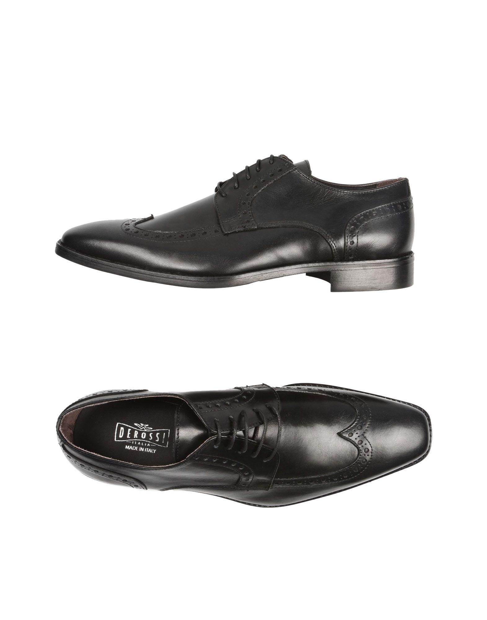 Rabatt echte Schuhe Derossi Italia Schnürschuhe Herren  11527512CD
