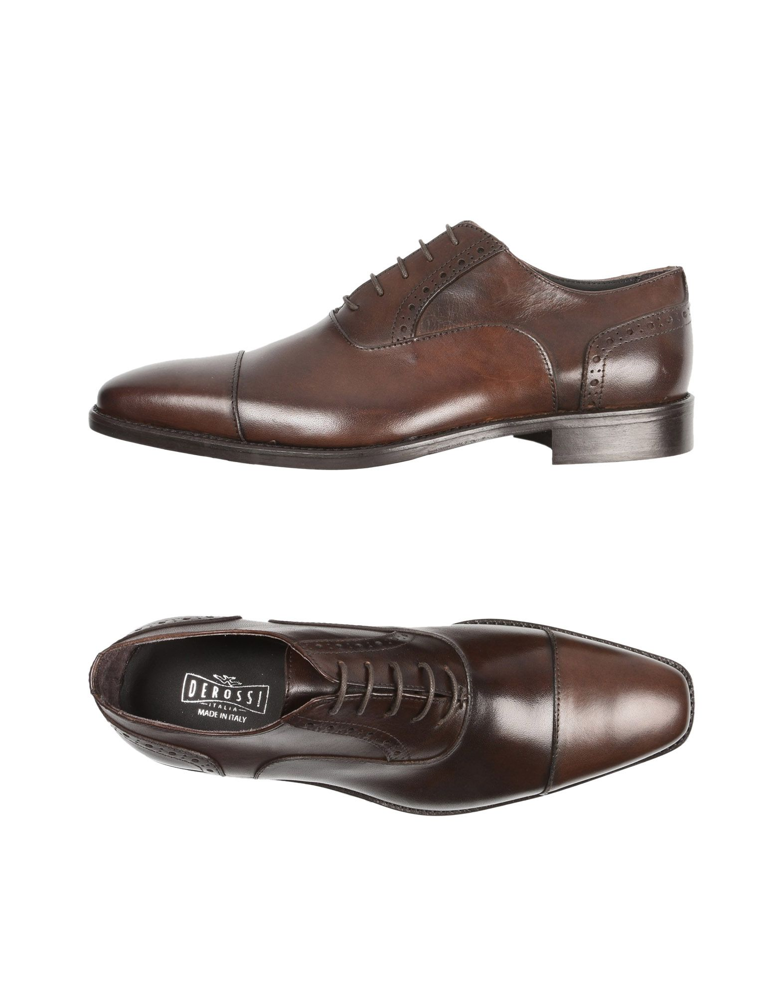 Derossi Derossi Derossi Italia Schnürschuhe Herren  11527570XH Neue Schuhe a4a255