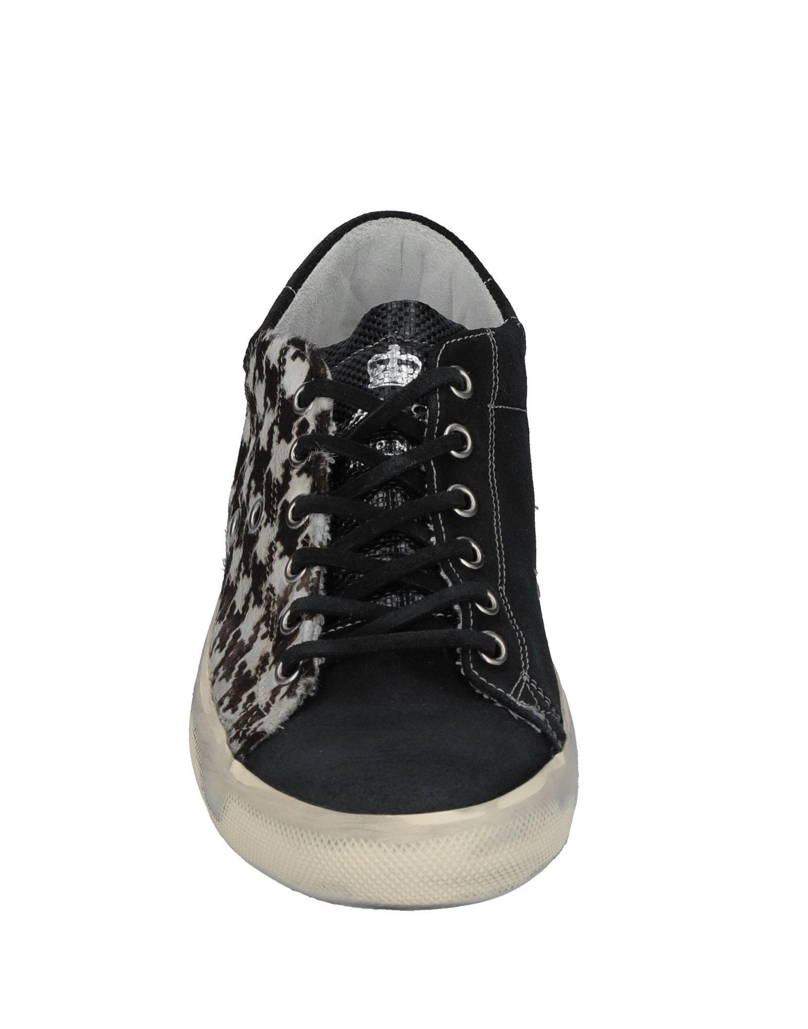 Gut tragenLeather um billige Schuhe zu tragenLeather Gut Crown Sneakers Damen  11528004PH 3b4571