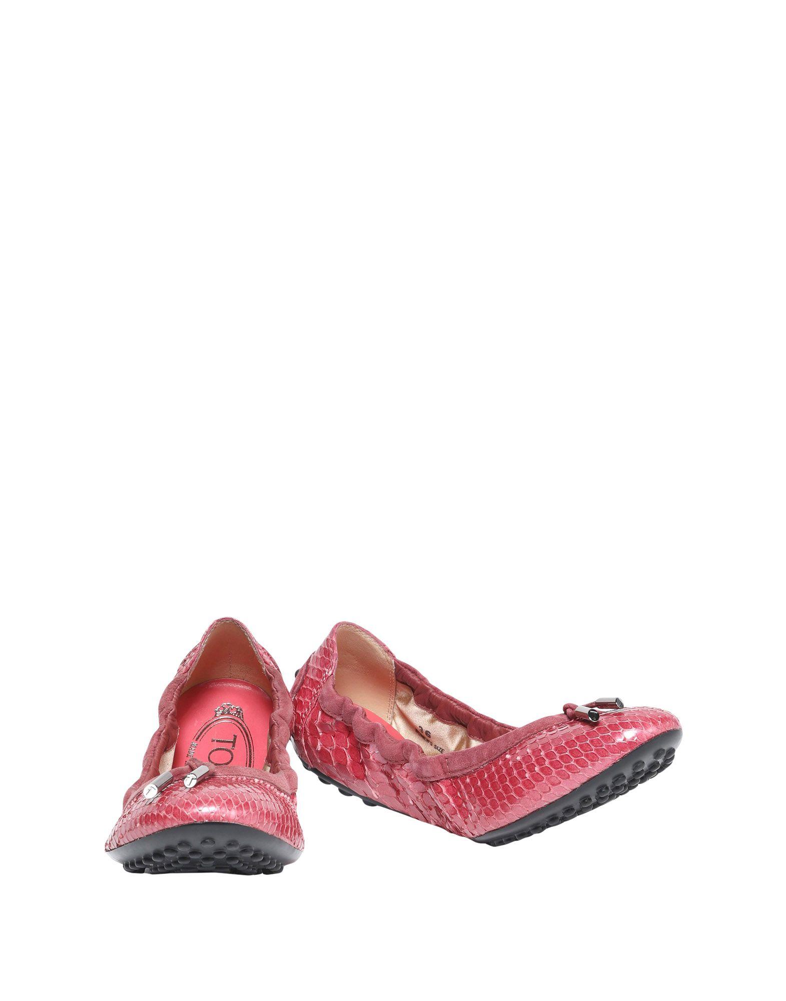Haltbare Mode billige Schuhe Tod's Ballerinas Damen  11528529II Heiße Schuhe
