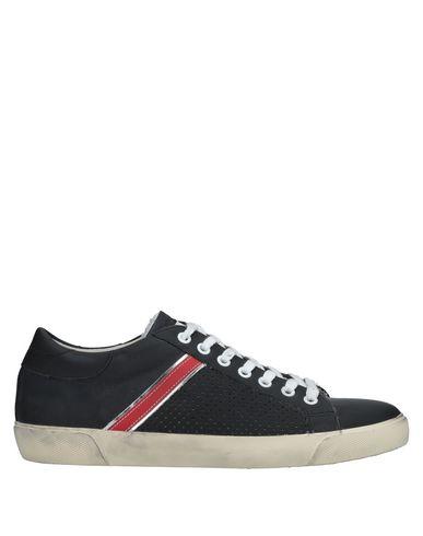 Los últimos zapatos de hombre y mujer Leather Zapatillas Leather mujer Crown Hombre - Zapatillas Leather Crown   - 11528678WU Negro 68d206