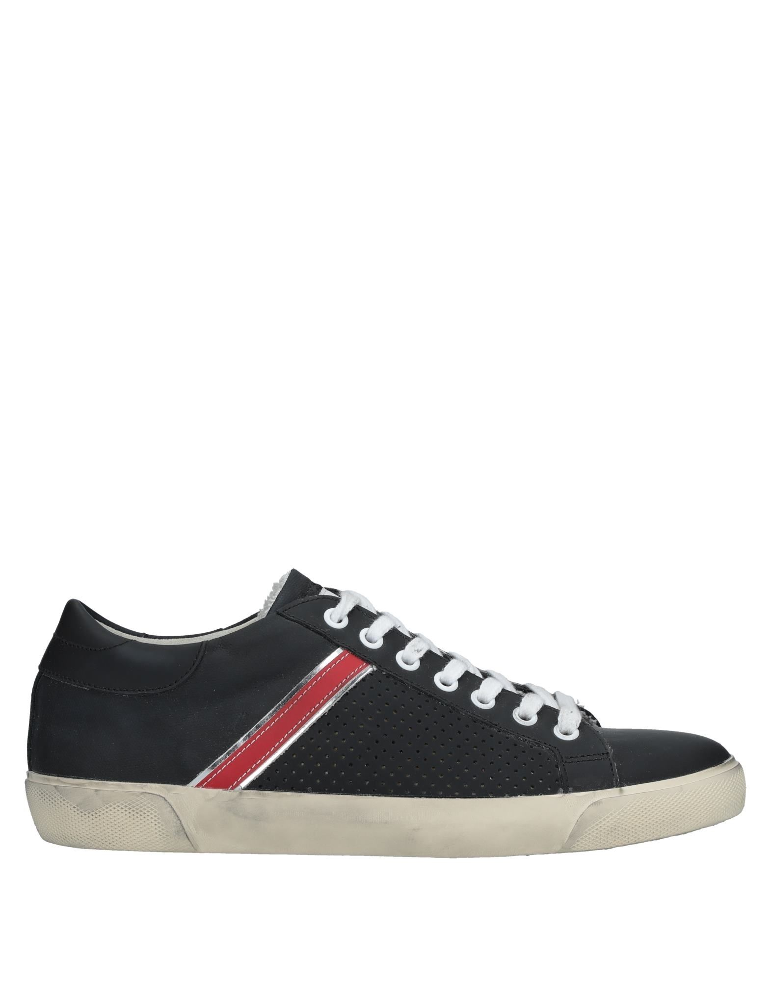 Leather Sneakers Crown Sneakers Leather Herren  11528678WU 0a027c
