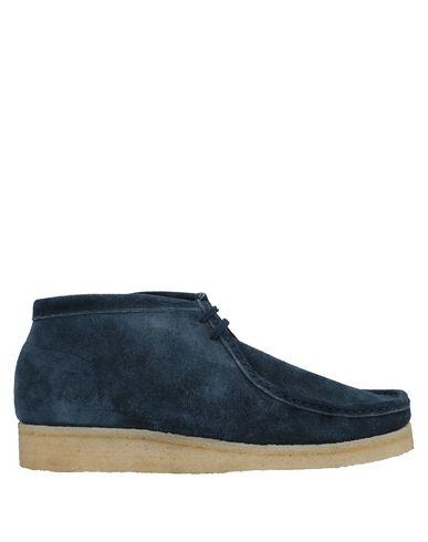 PADMORE & BARNES Boots in Dark Blue