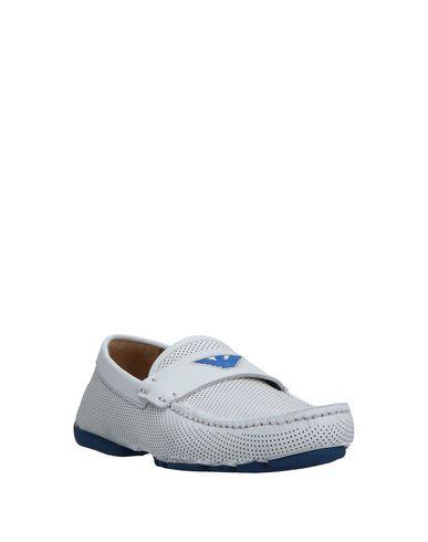 Zapatos con descuento Mocasín Emporio Armani Hombre - Mocasines Emporio Armani - 11530576MM Blanco