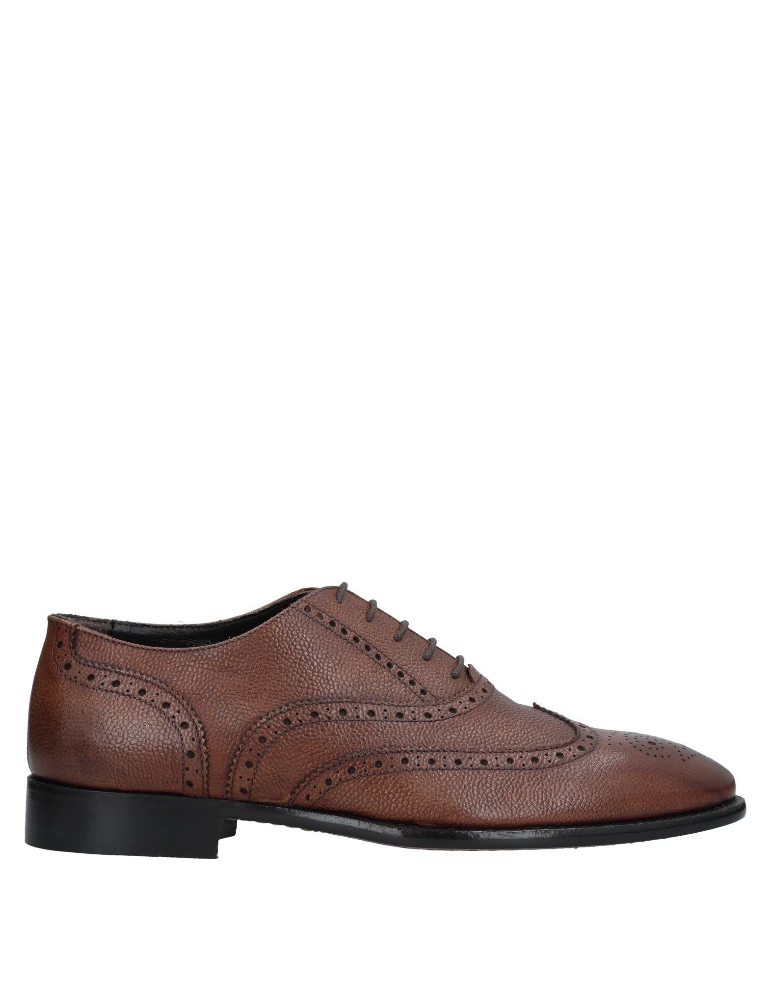 Marrón Zapato De Cordones Roberto Roberto Roberto Della Croce Hombre - Zapatos De Cordones Roberto Della Croce Tiempo limitado especial 5adad8
